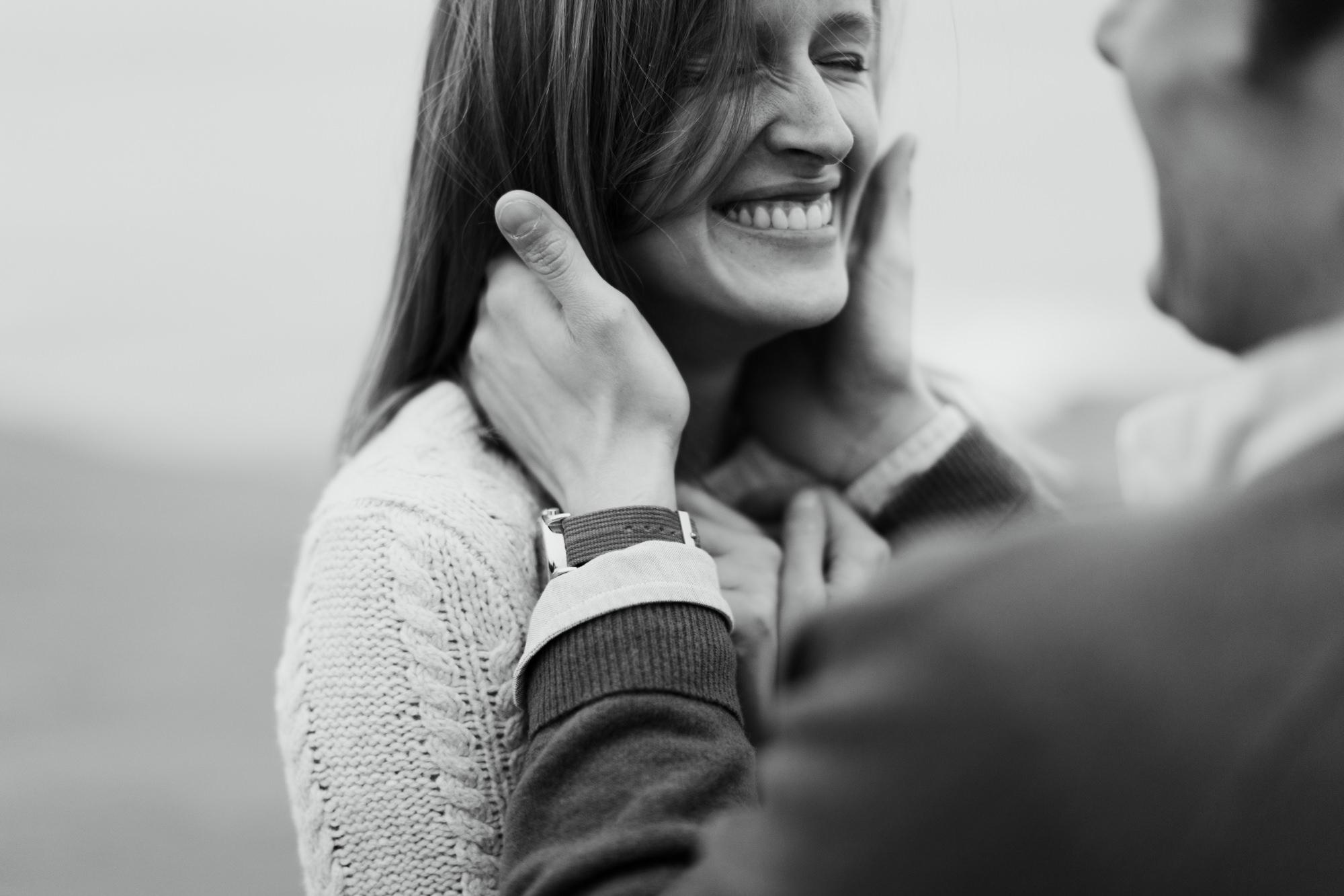 adventurous engagement photo session at point reyes national seashore // california wedding photographer // www.abbihearne.com