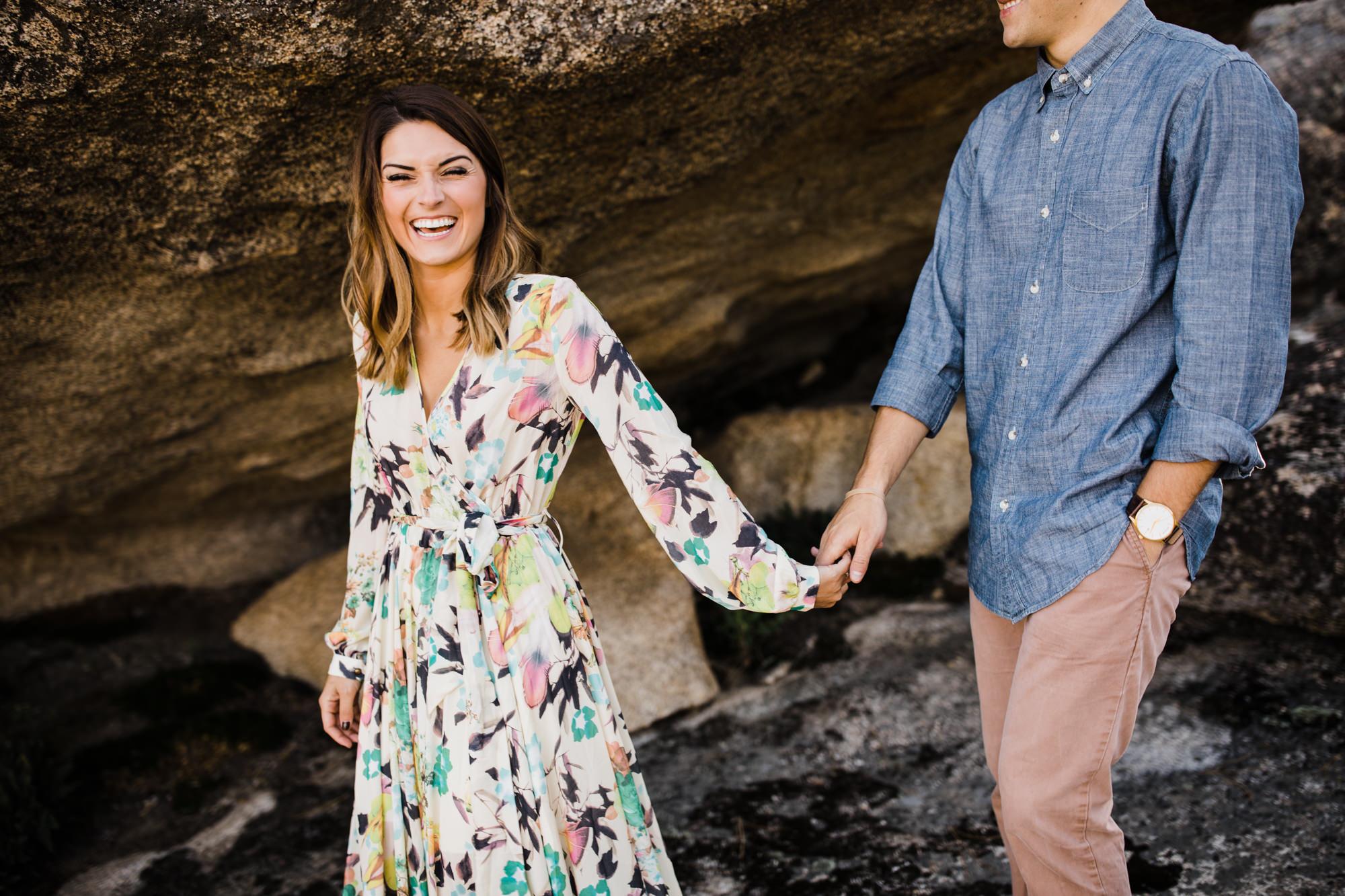 yosemite adventure session | national park wedding photographer | california elopement inspiration | www.thehearnes.com