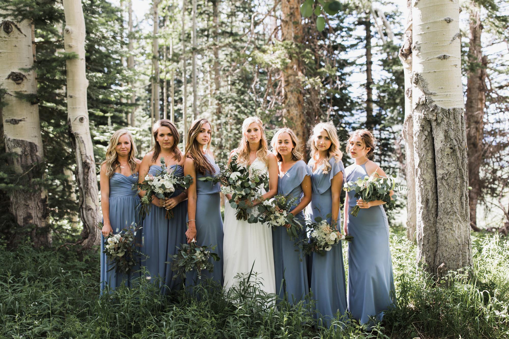 laurann + matt's intimate wedding | ten peaks ceremony site | crested butte mountain resort | colorado wedding photographer | the hearnes adventure photography