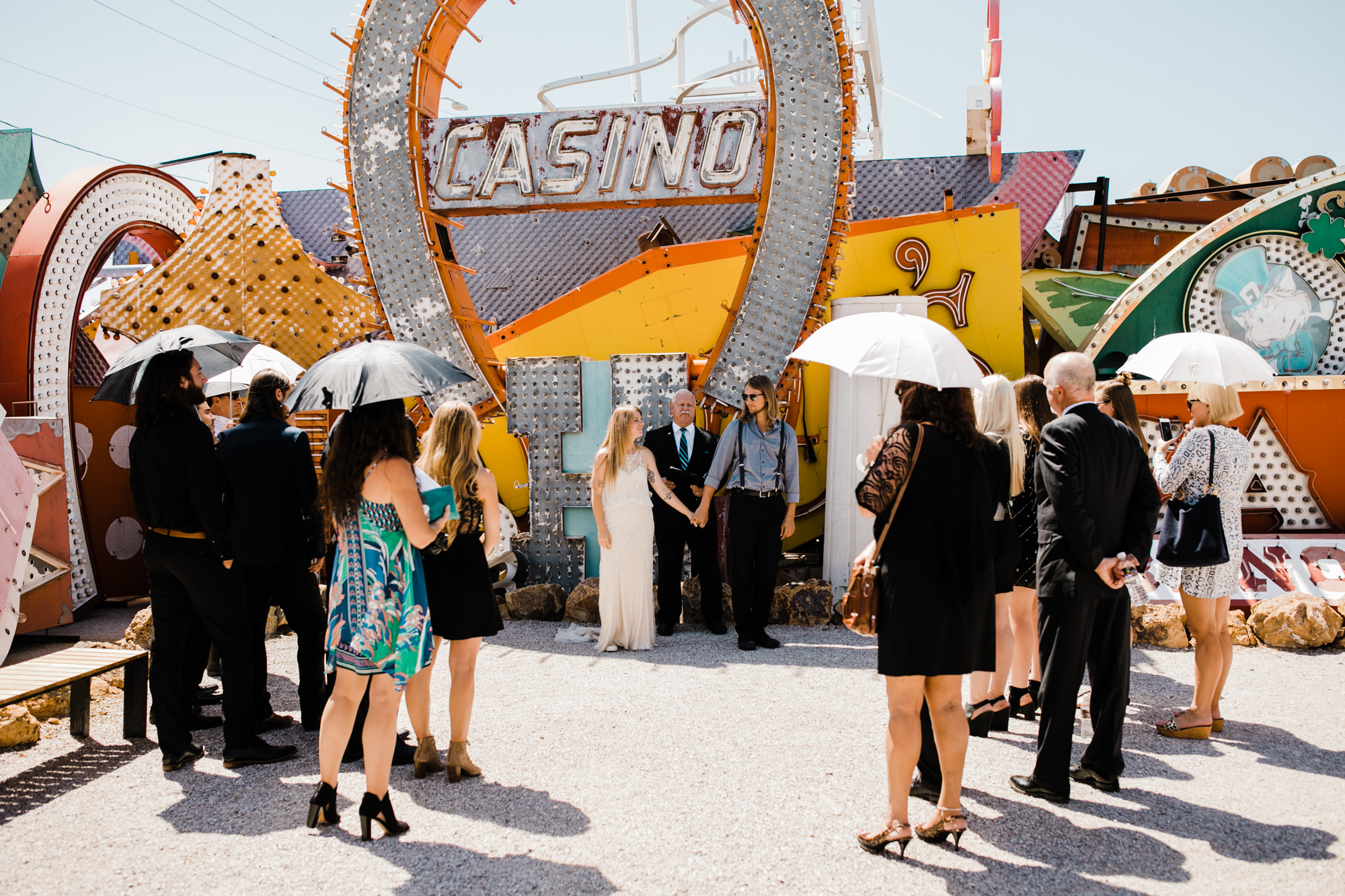 megan + zach's las vegas elopement at the neon museum | sunset wedding portraits at zion national park |utah adventure wedding photographer | the hearnes adventure photography | www.thehearnes.com