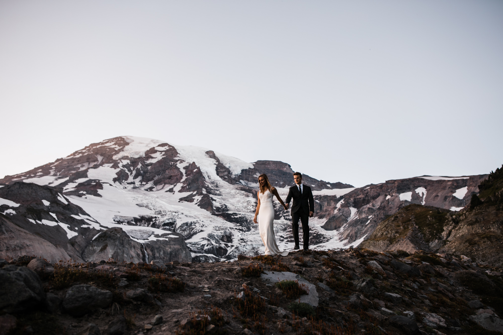jena + kyler's wedding day-after session in mount rainier national park |washington adventure wedding photographer | the hearnes adventure photography | www.thehearnes.com