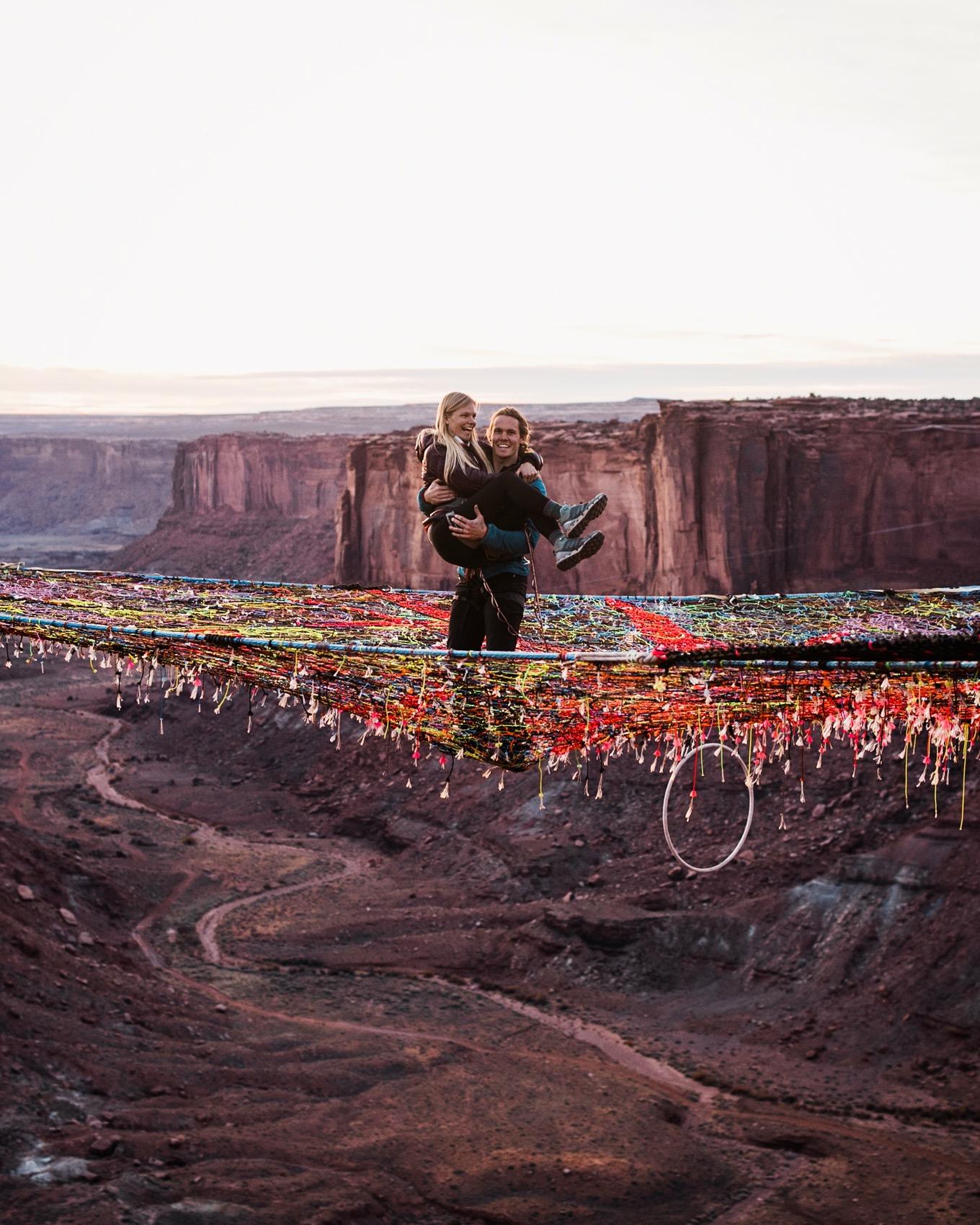 adventure spacenet wedding in moab utah