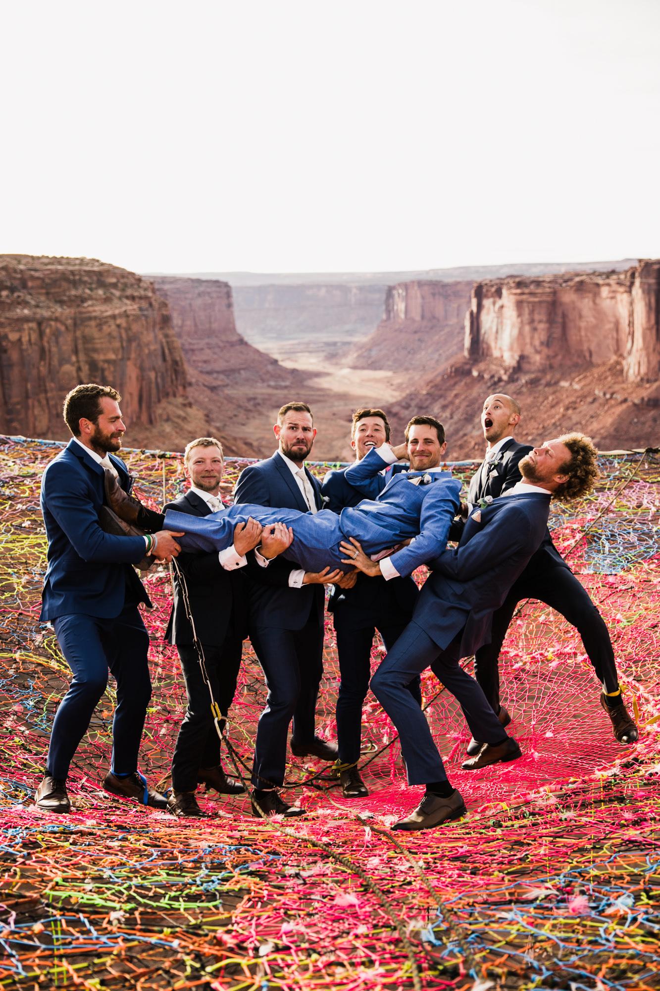 moab, utah spacenet wedding | destination adventure wedding photographers | the hearnes adventure photography | www.thehearnes.com
