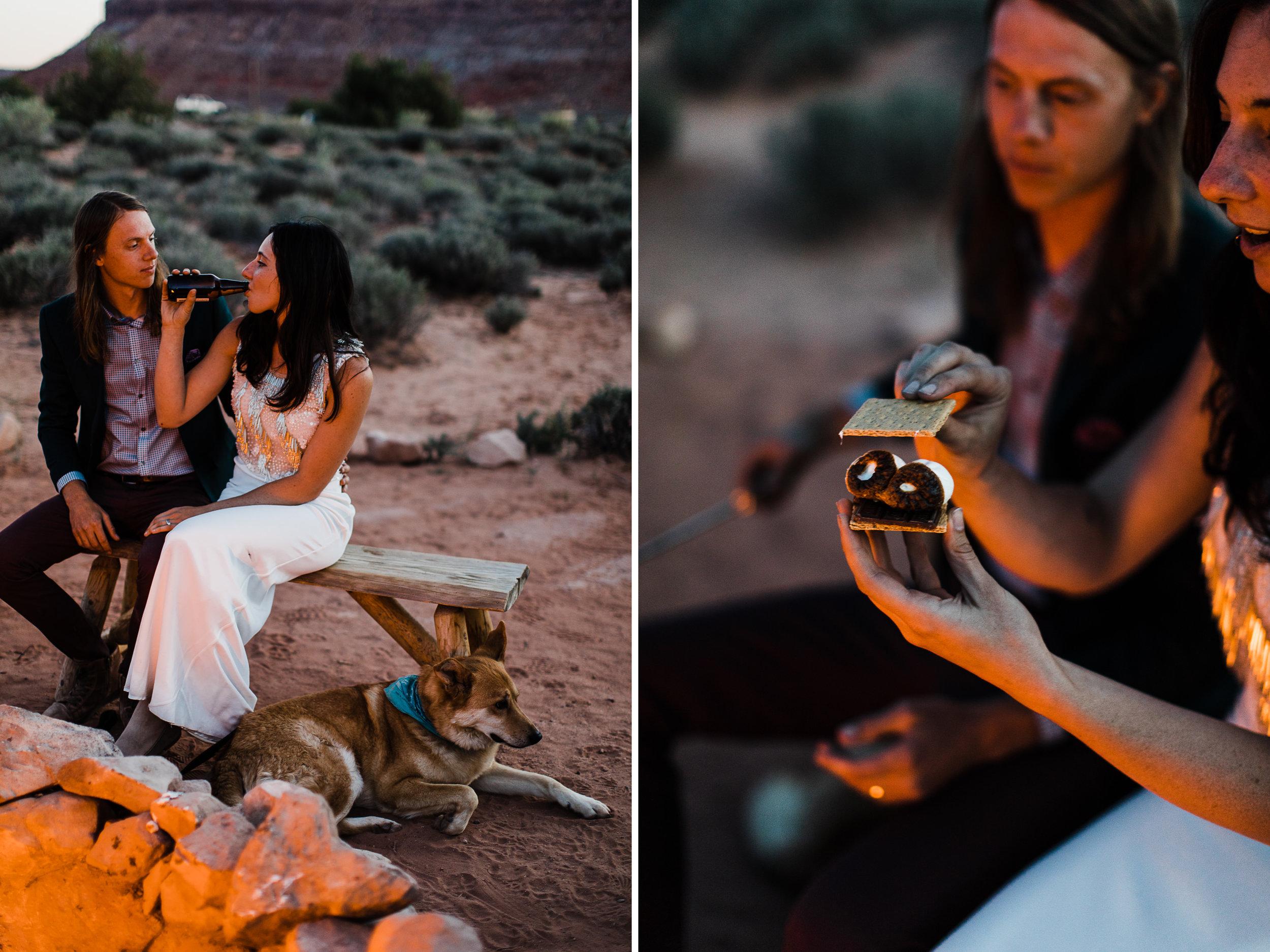 canyonlands national park elopement at moab under canvas | destination adventure wedding photographers | the hearnes adventure photography | www.thehearnes.com