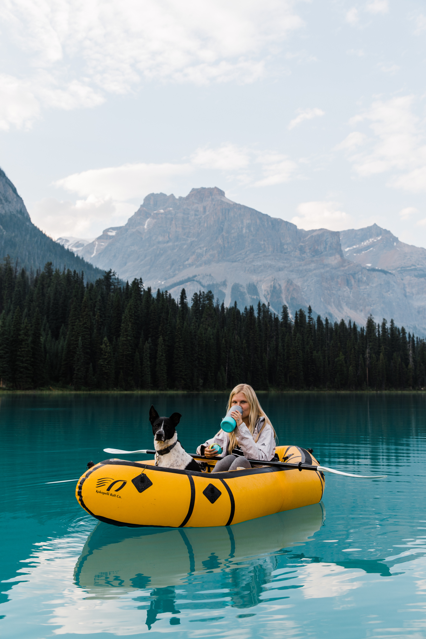 pack rafting in canada | utah and california adventure elopement photographers | the hearnes adventure photography | www.thehearnes.com