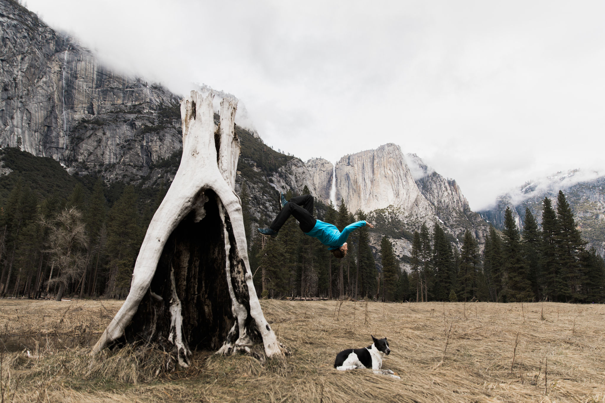 exploring yosemite national park | utah and california adventure elopement photographers | the hearnes adventure photography | www.thehearnes.com