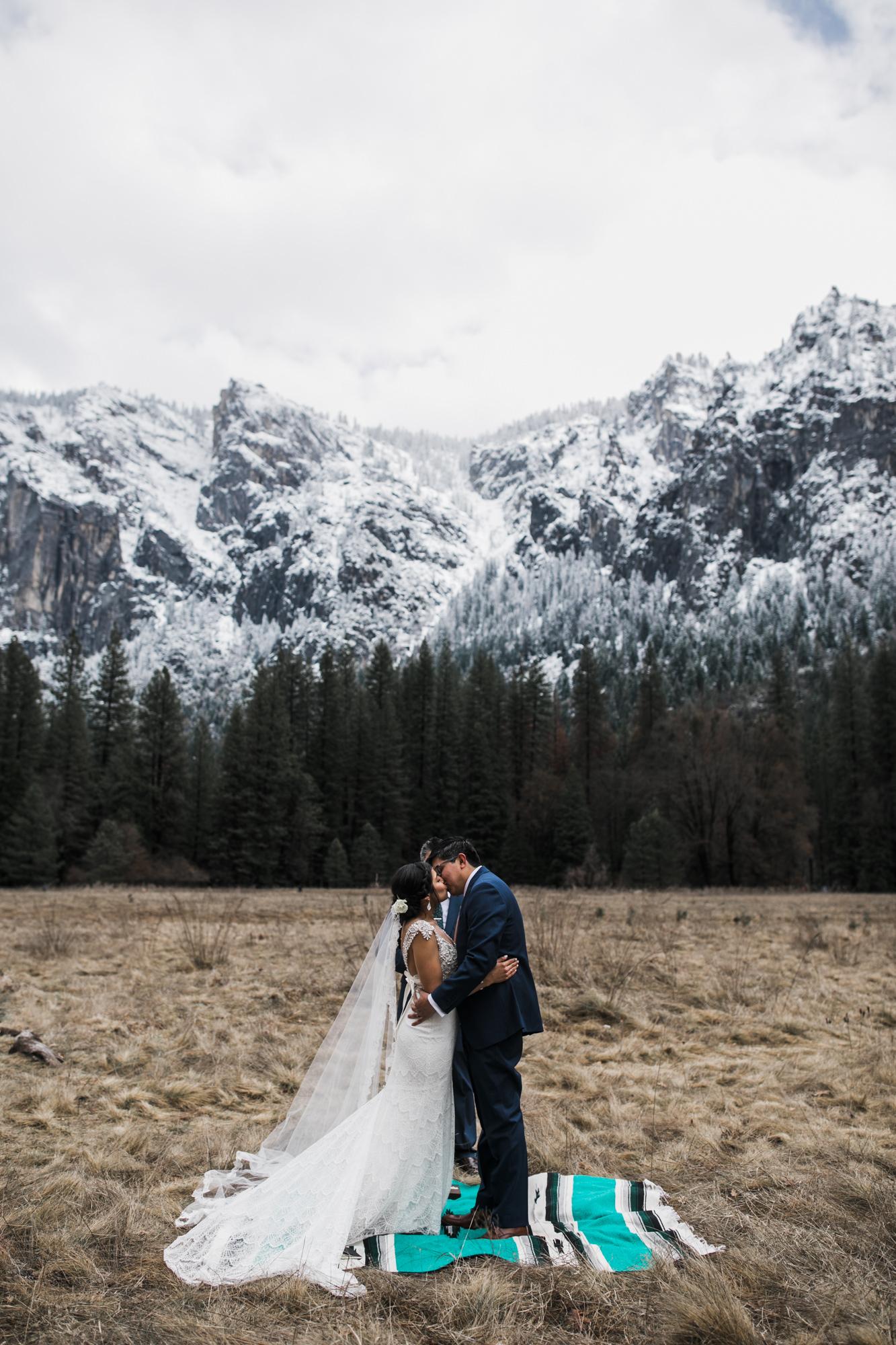 yosemite national park elopement inspiration | adventurous destination wedding photographer