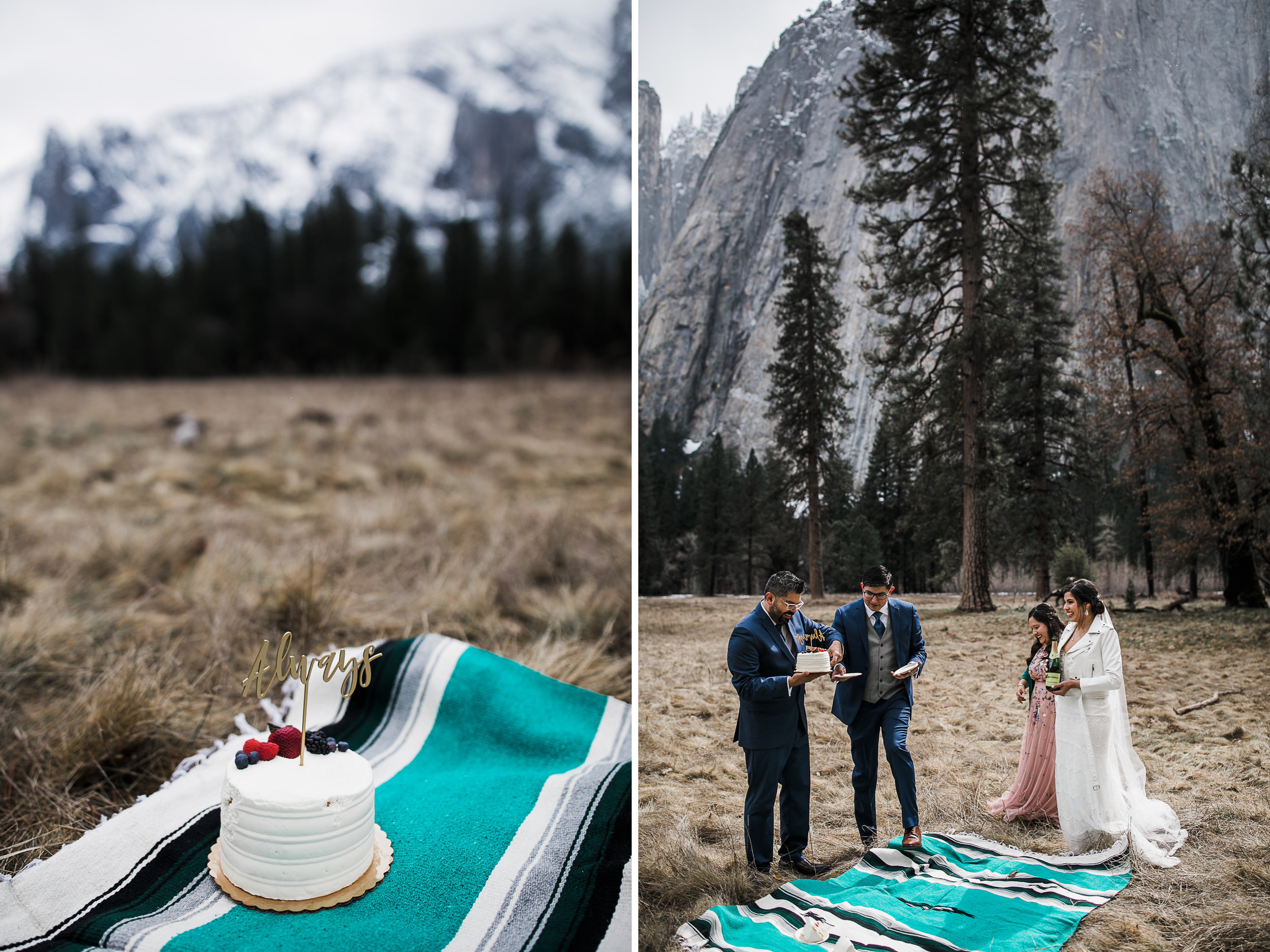 what to do to celebrate your elopement in yosemite national park