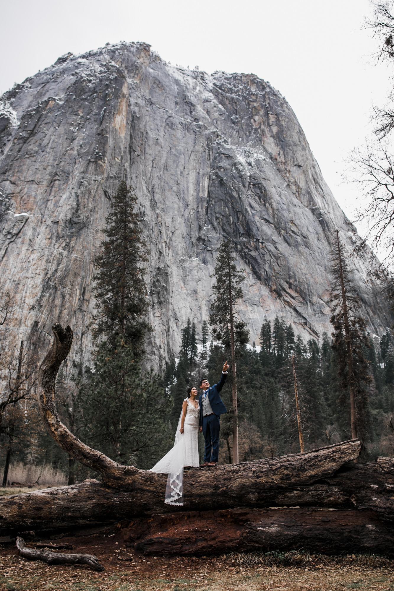yosemite adventure elopement photographers