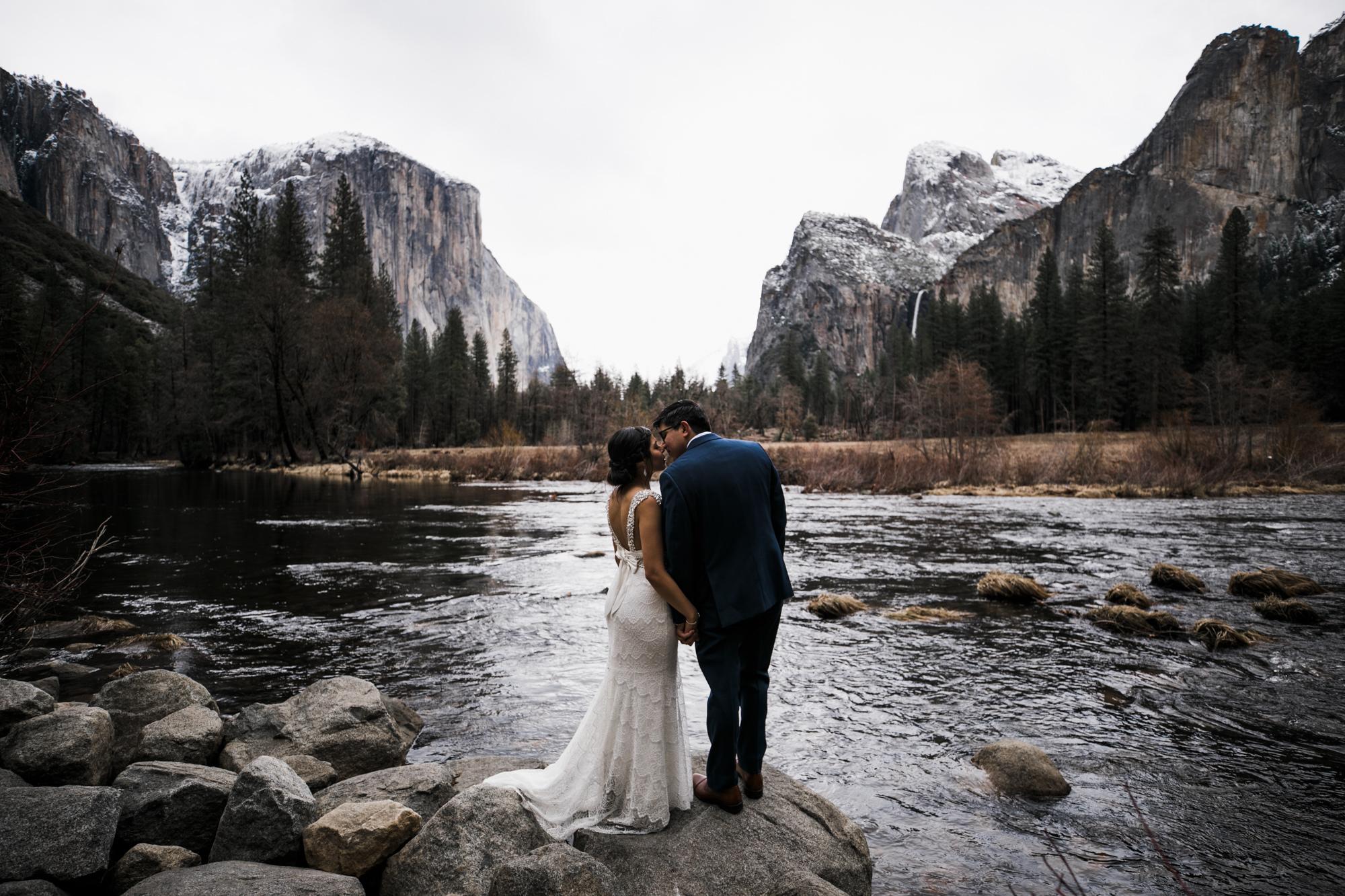 yosemite winter wedding inspiration