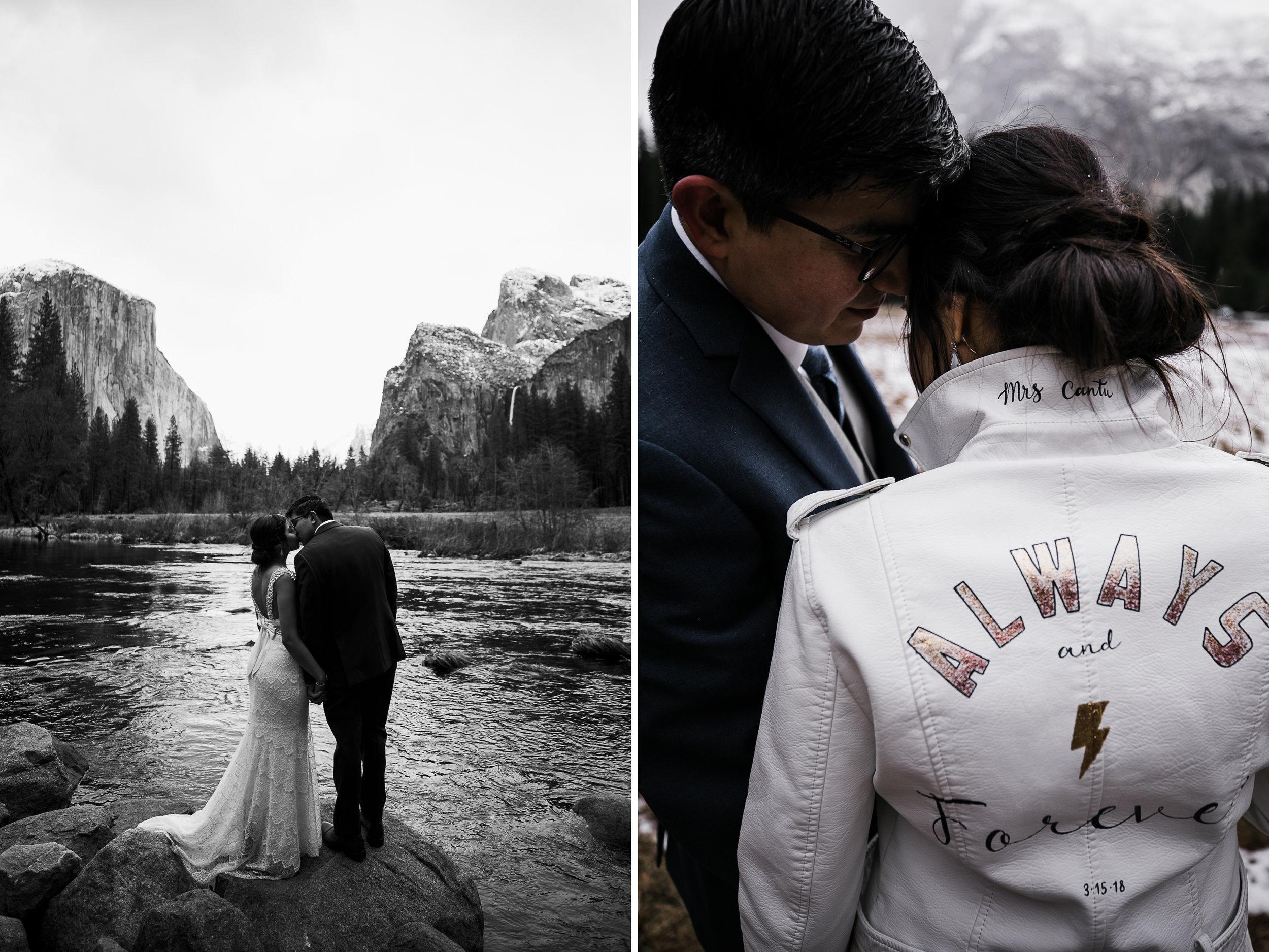 custom bridal jacket for a winter wedding