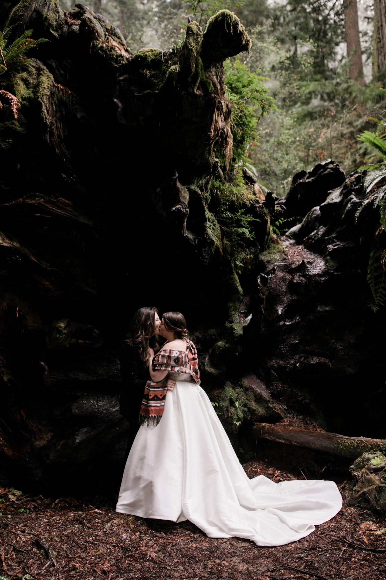 adventure wedding in northern california
