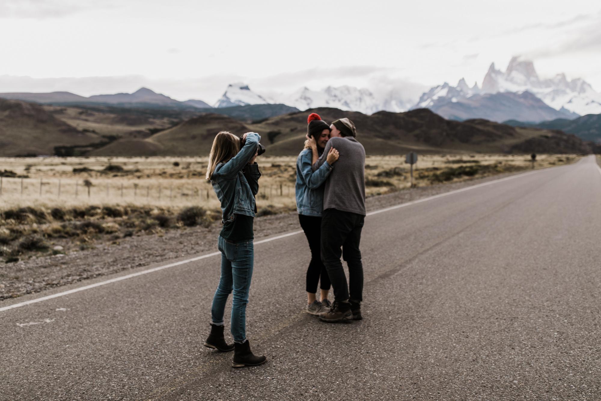 behind the scenes with adventure elopement photographer megan kantor