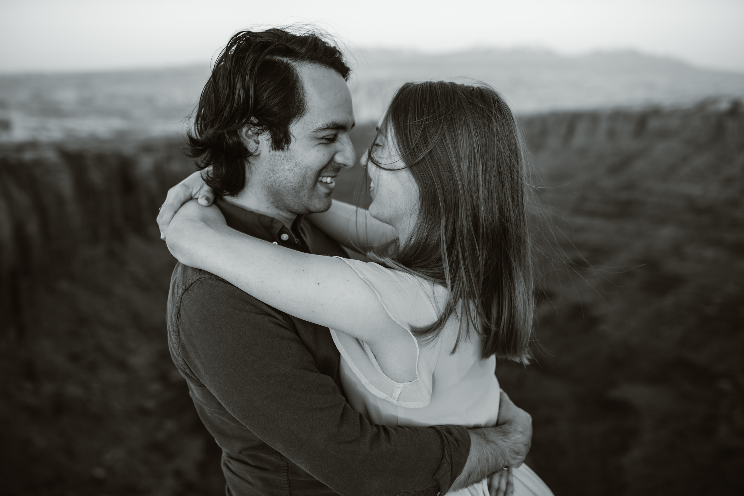 michelle + damian's post-elopement adventure session in moab | moab elopement photographer