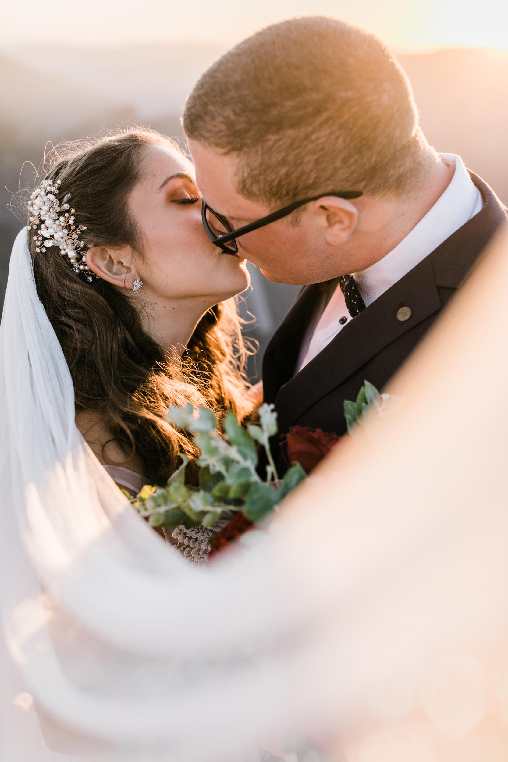 destination elopement in yosemite valley | adventure wedding portraits + a romantic ceremony | national park elopement photographer | the hearnes adventure photography
