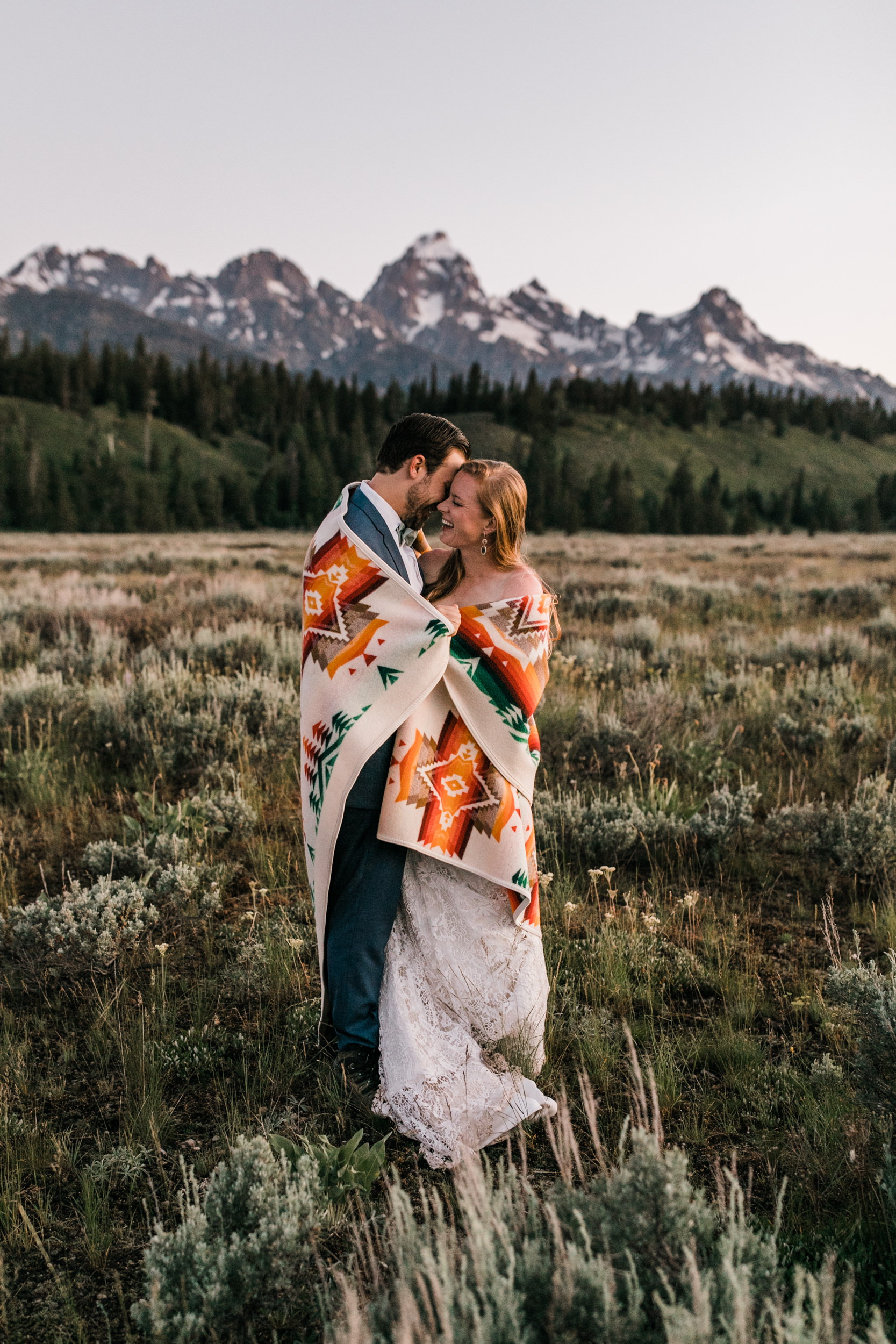 tara + david's post-wedding adventure portrait session in grand teton national park | jackson, wyoming wedding photographer | the hearnes adventure photography