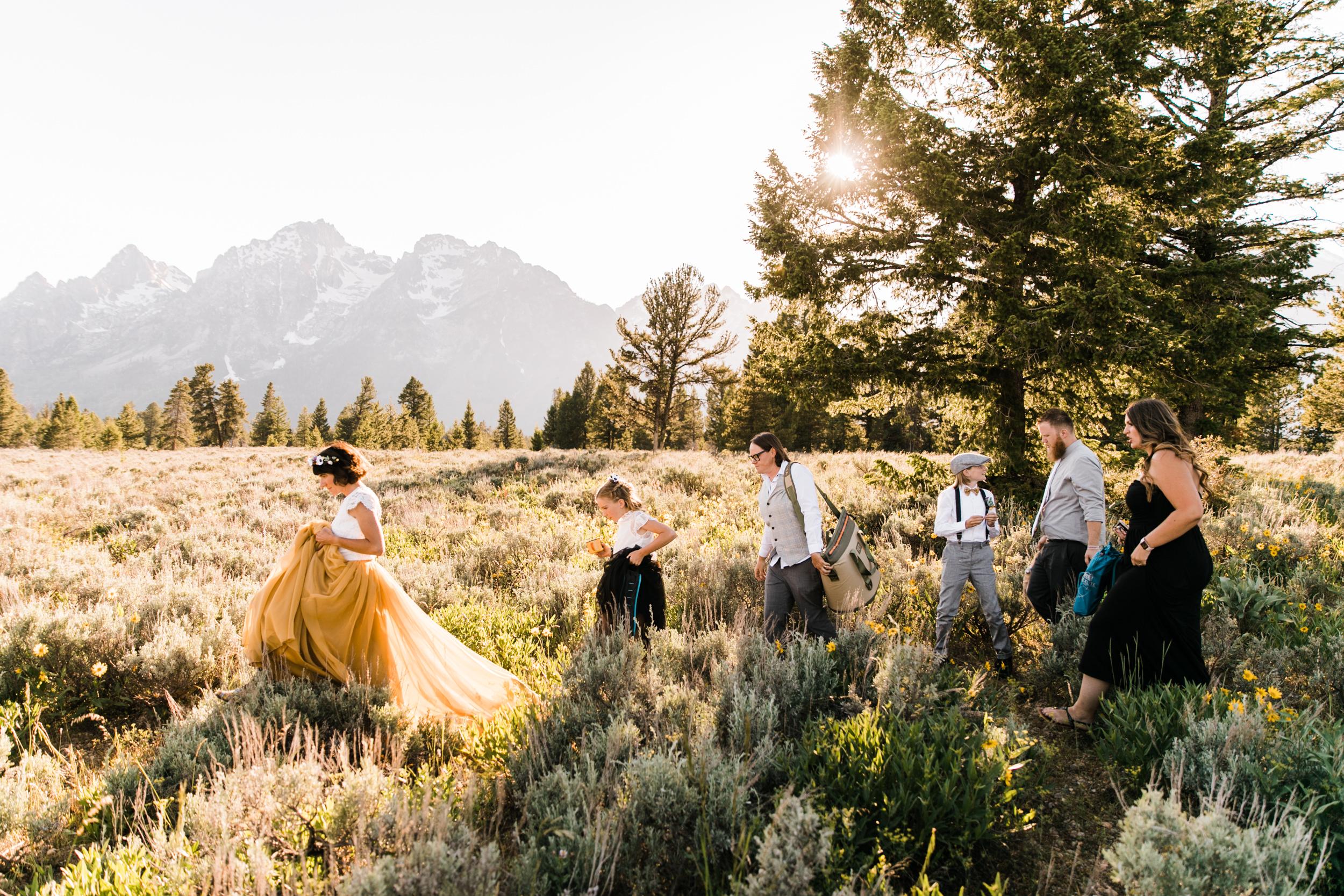 jen + amanda's intimate elopement in grand teton national park | jackson, wyoming wedding photographer | the hearnes adventure photography | www.thehearnes.com