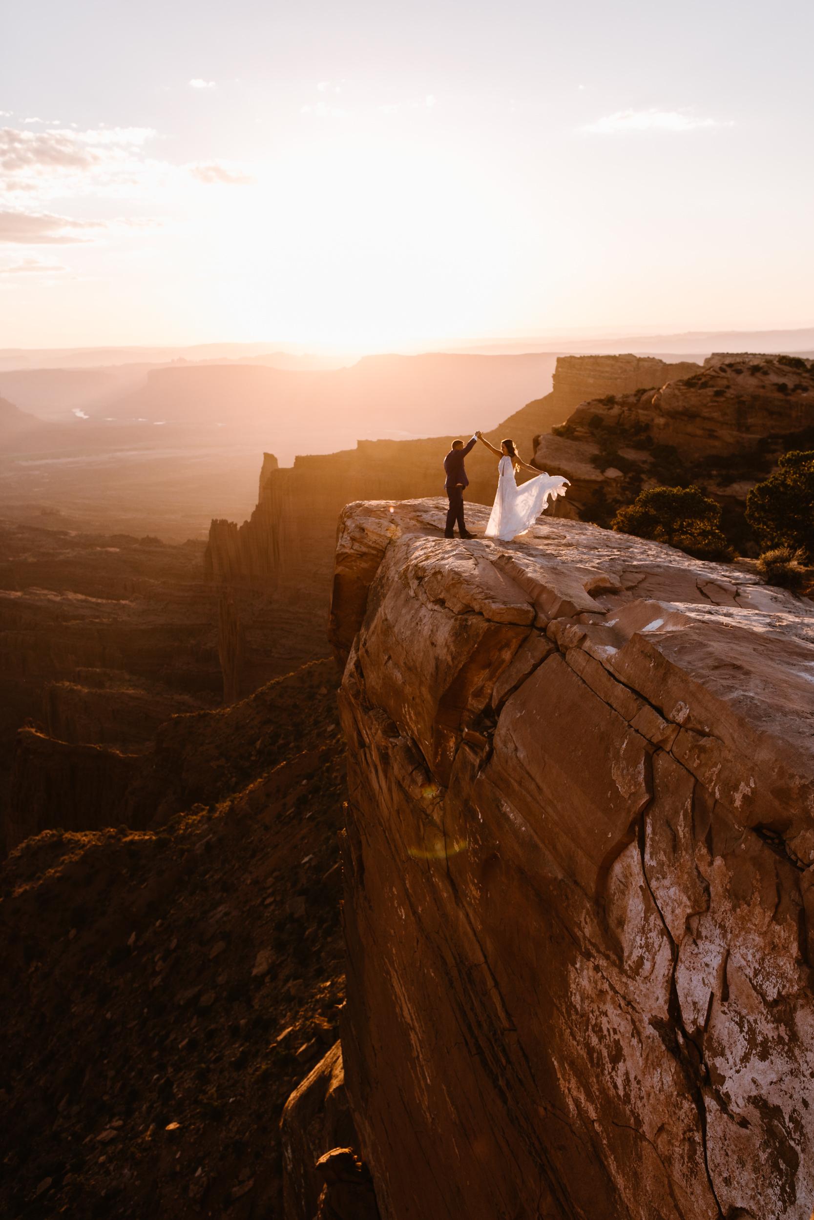 moab elopement inspiration | utah adventure wedding photographer