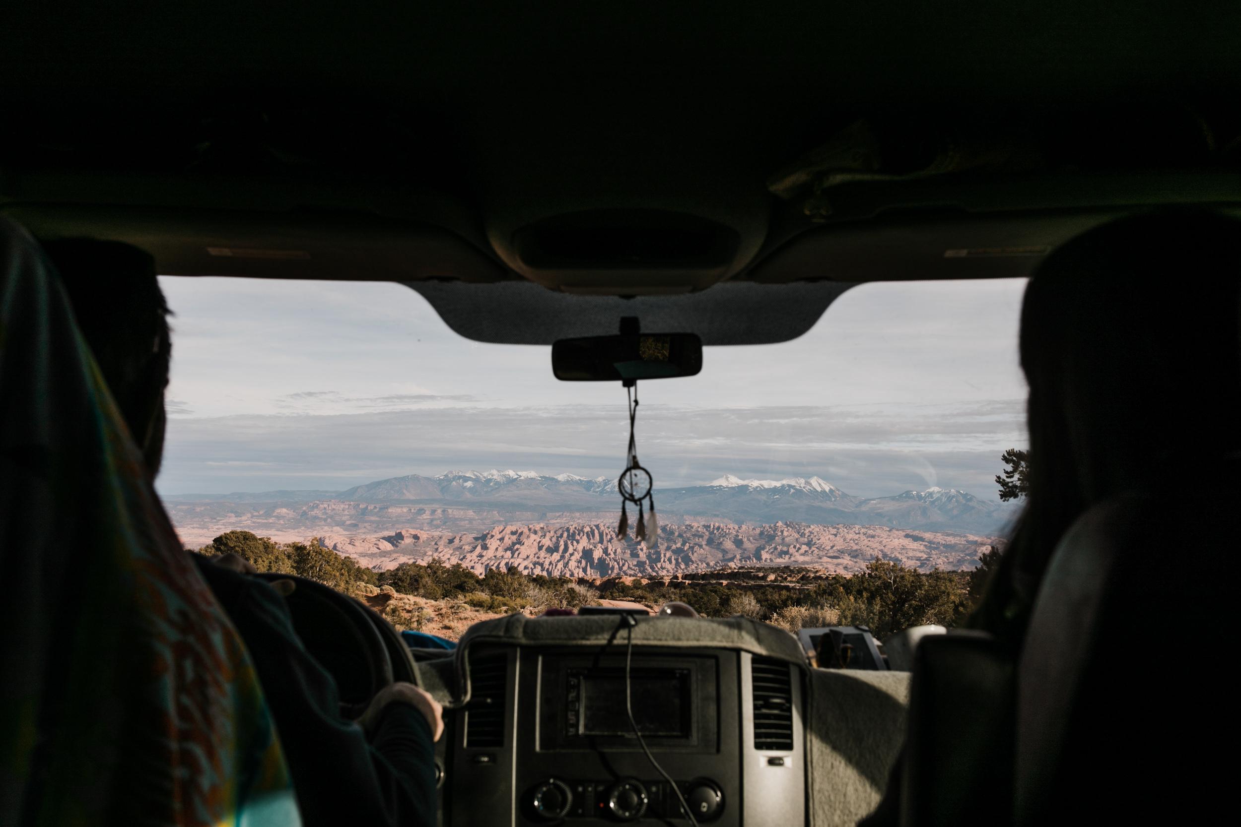 van life in moab
