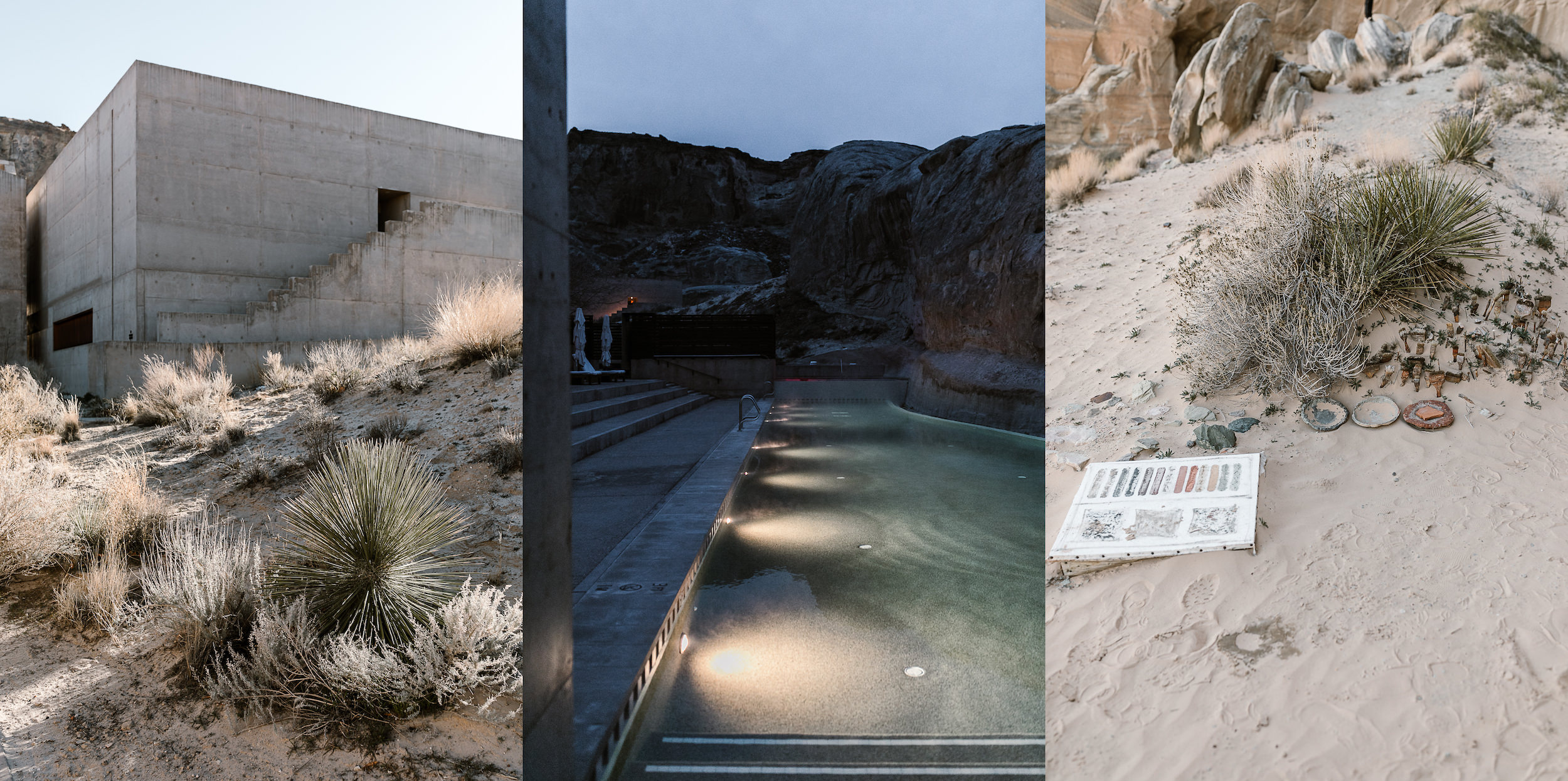 Amangiri is a luxury resort in the heart of the Utah desert, the perfect place for a high-end honeymoon destination!
