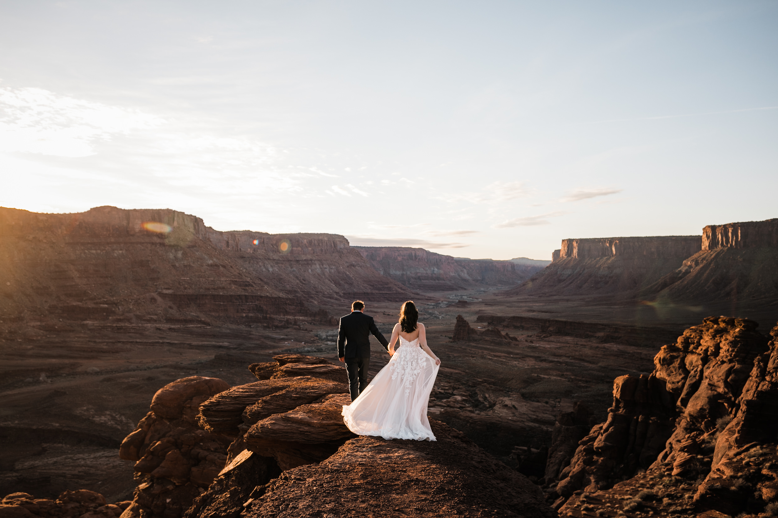 These sunrise elopements in Utah will never get old.