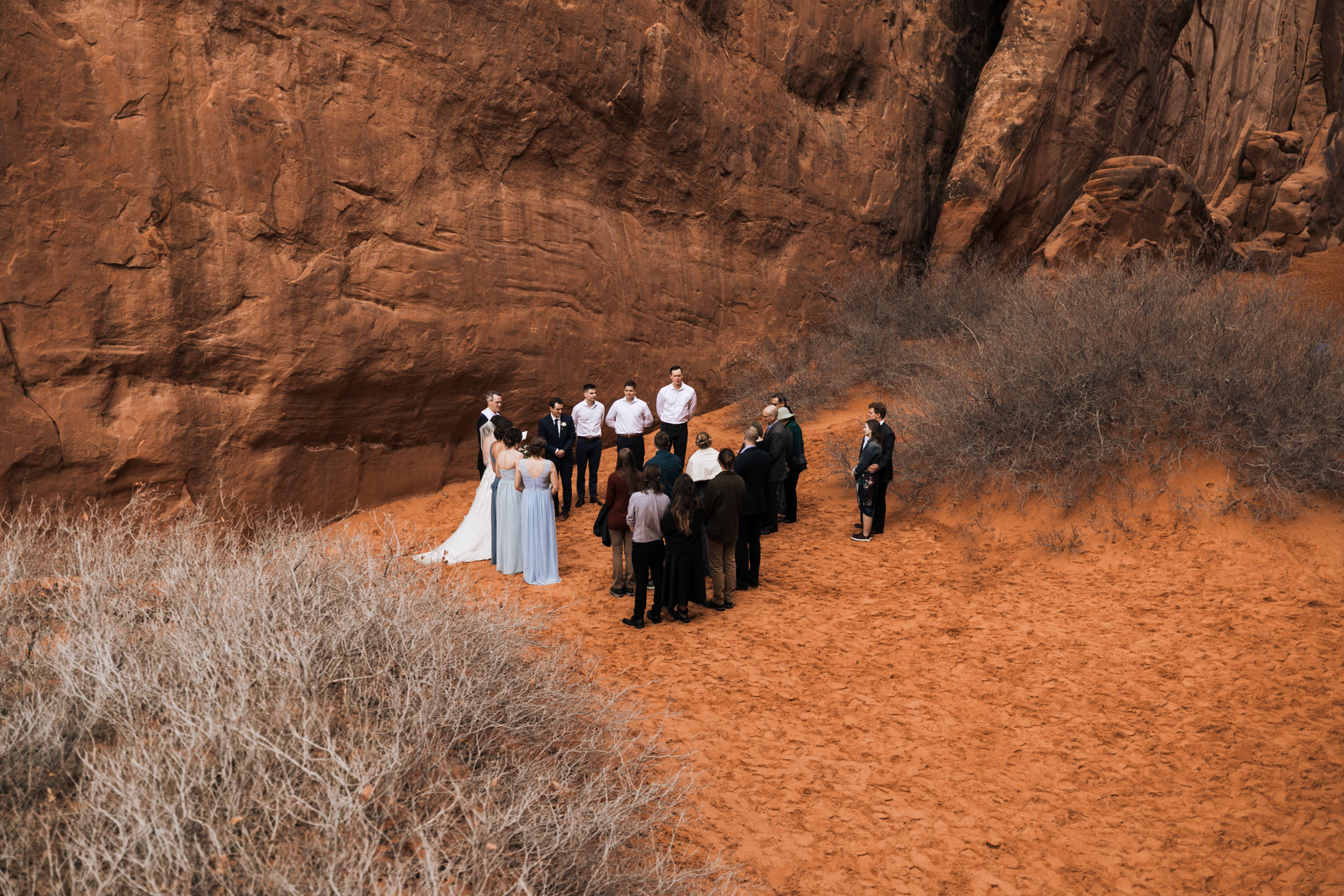 Arches National Park has some beautiful designated wedding ceremony locations. Just make sure to get your permit!