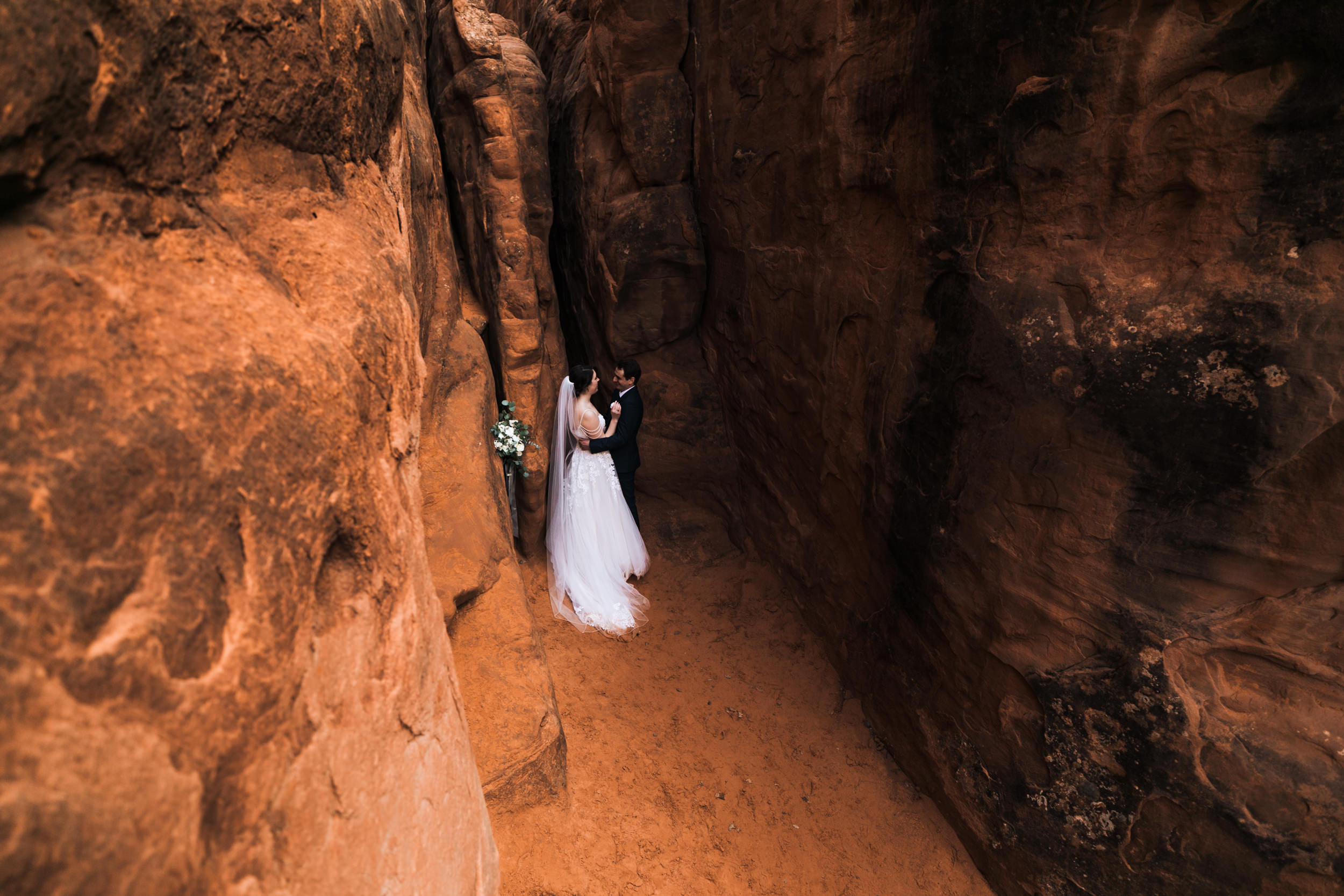 Beautiful wedding photos in Utah! Moab has such a diverse amount of terrain for photography!