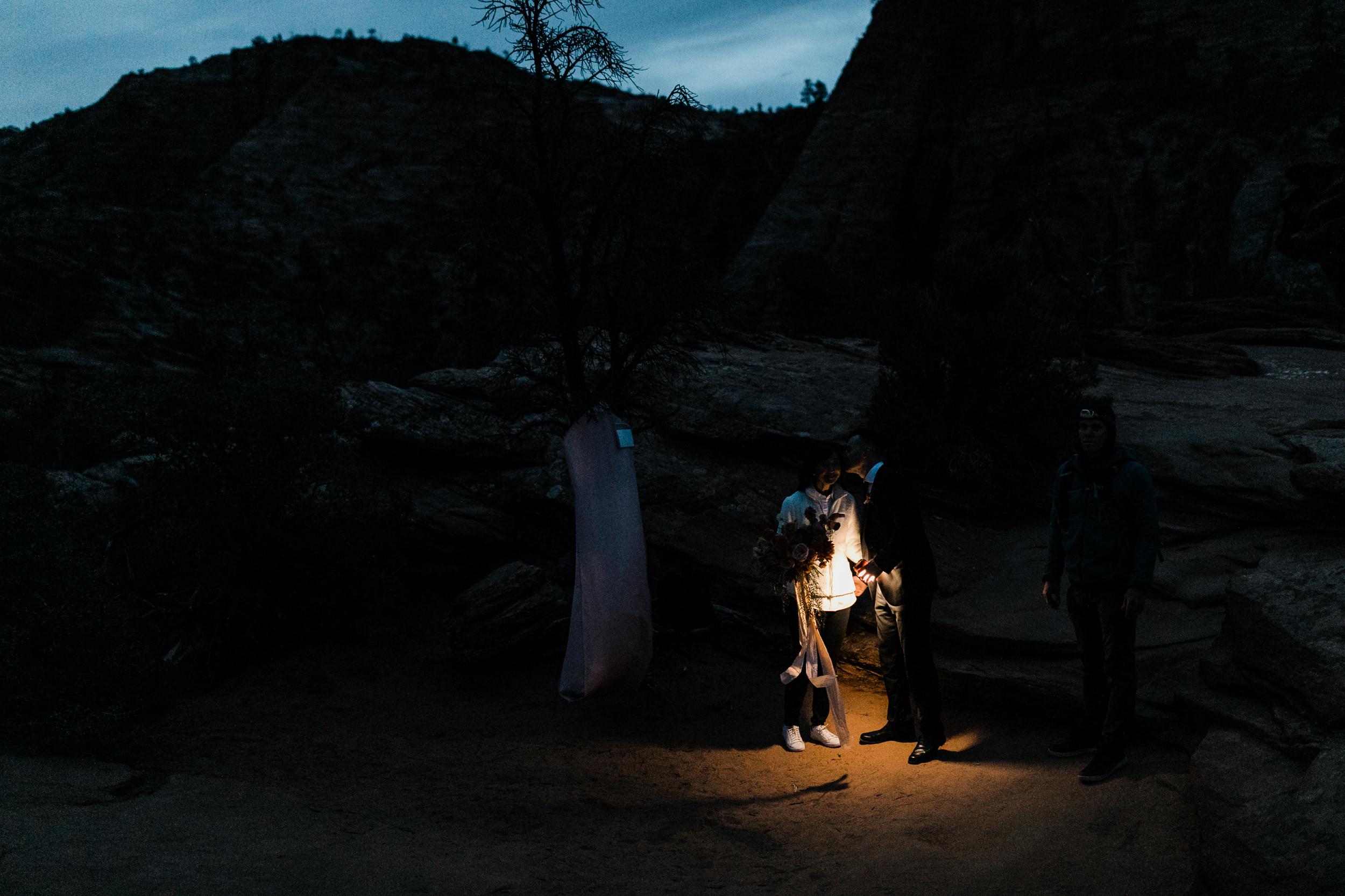 The Hearnes Adventure Elopement Photography Zion Utah