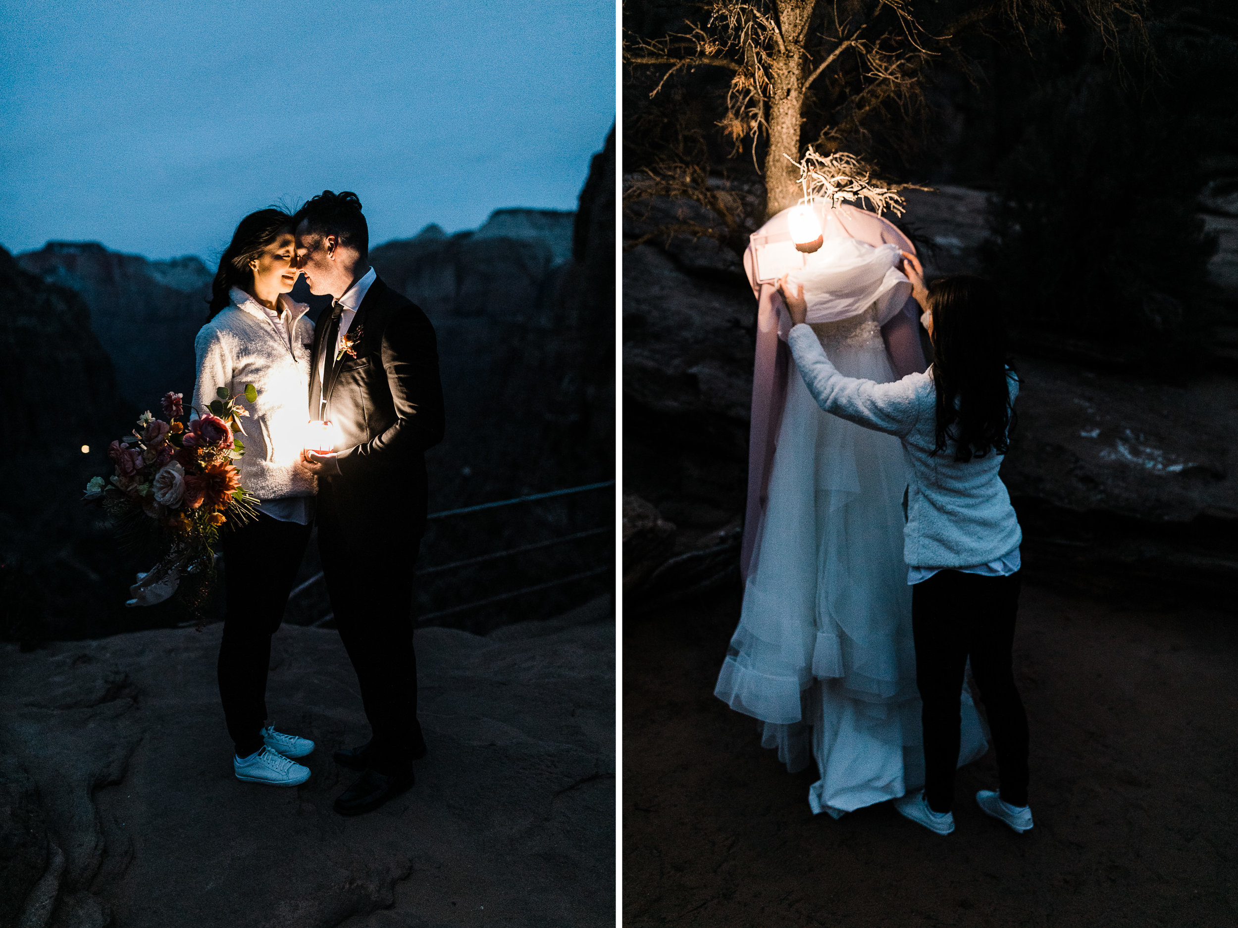 The Hearnes Adventure Elopement Photography Southern Utah