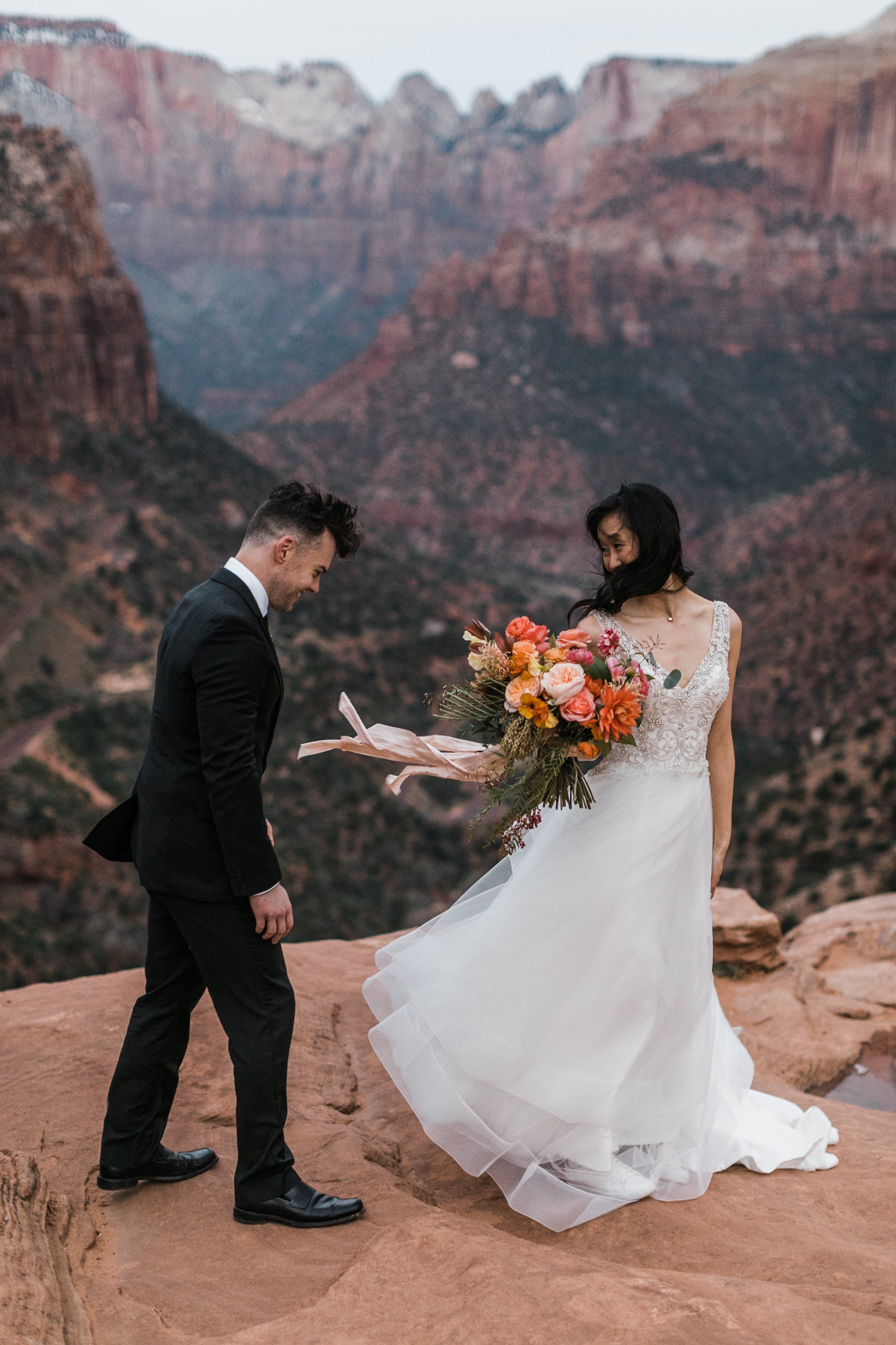 The Hearnes Adventure Elopement Photography Bouequet