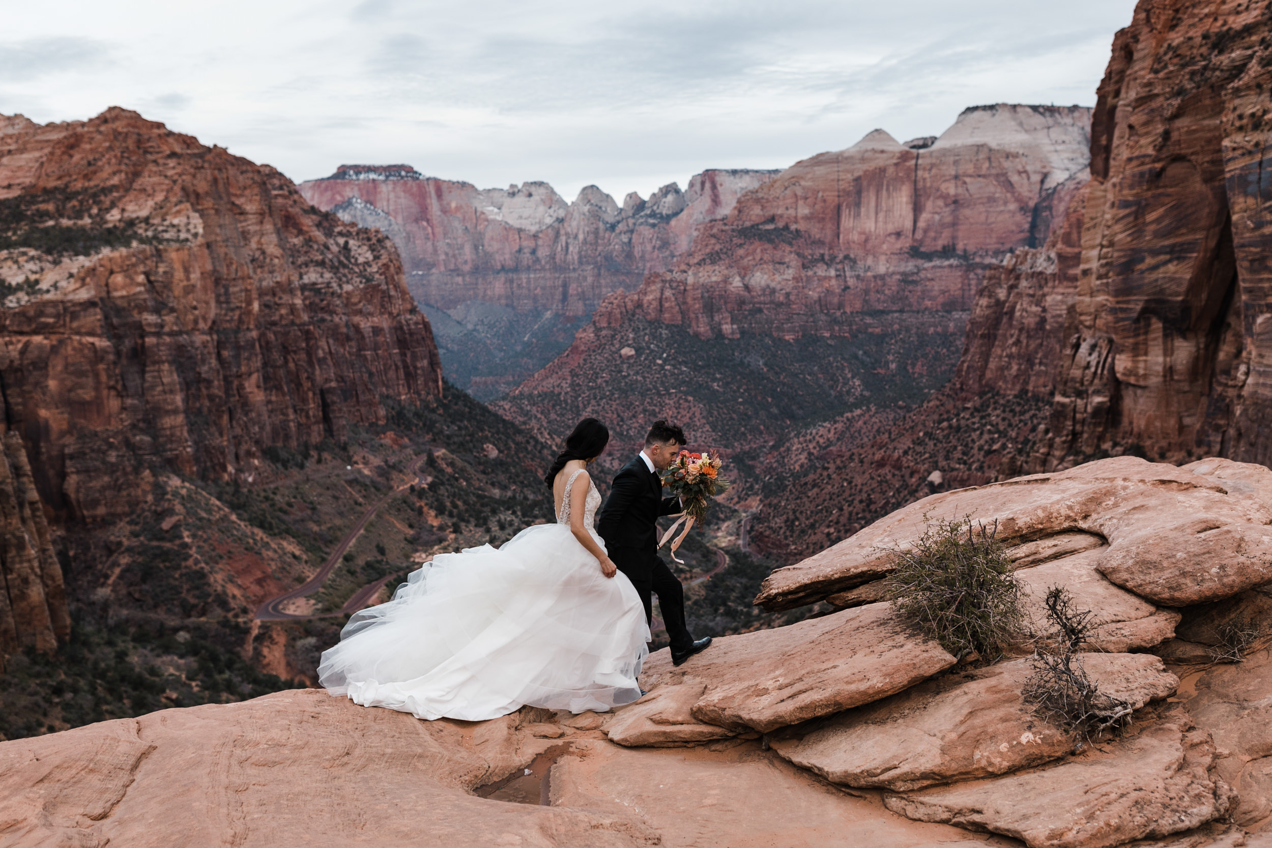 Wedding Photography in Zion Bride and Groom