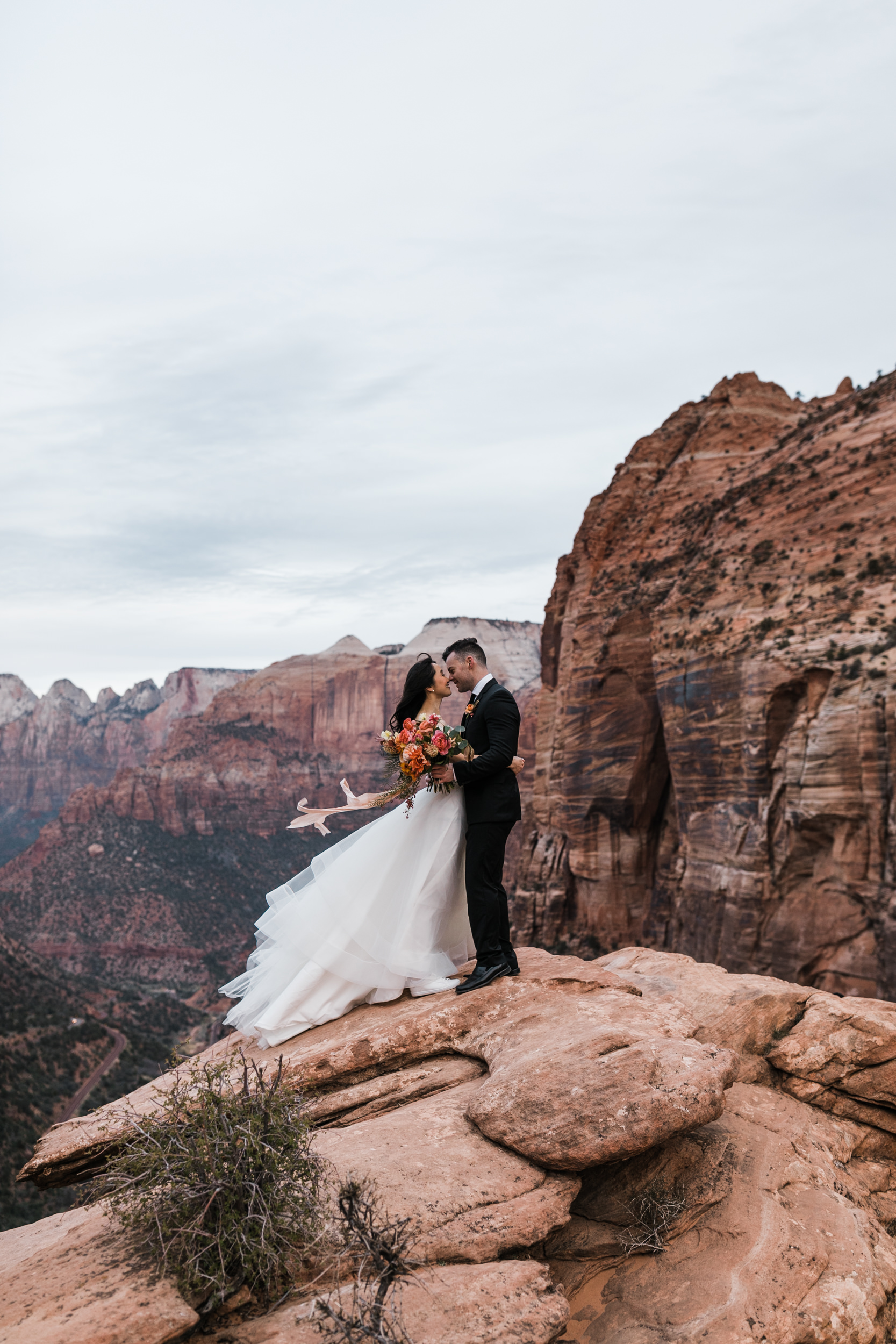 Wedding Photography in Zion National Park Southern Utah