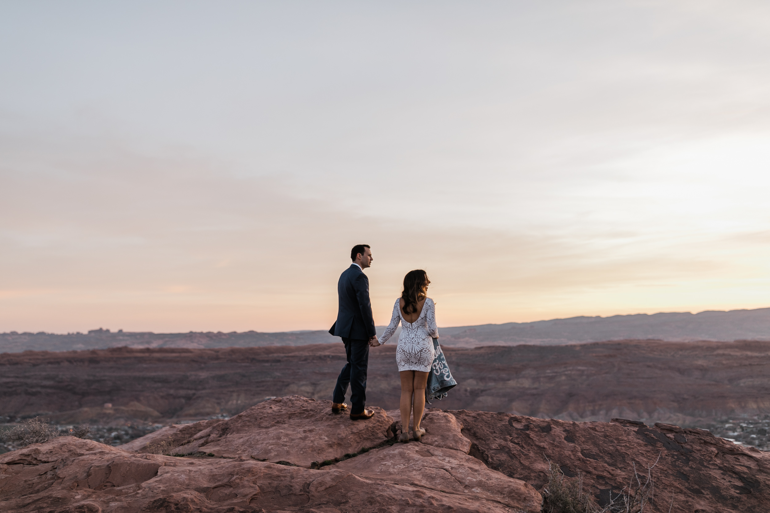 The Hearnes Adventure Elopement Jeep Adventure Wedding in Moab