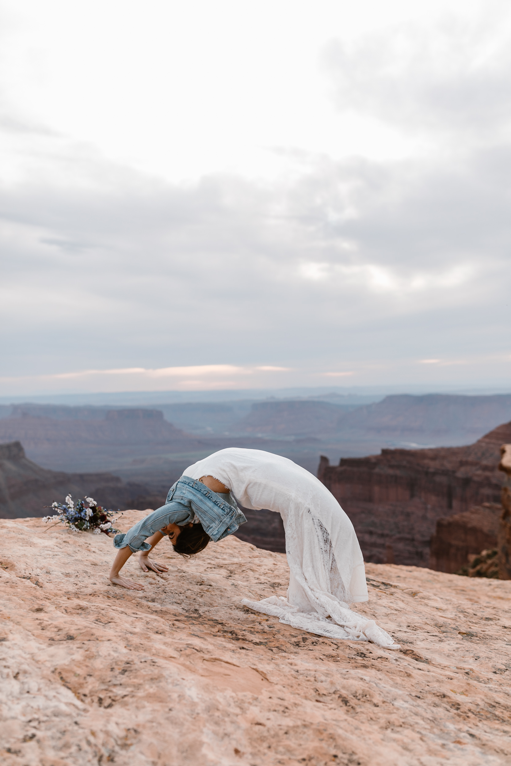 The Hearnes Adventure Wedding in Moab Utah Yogi Wedding