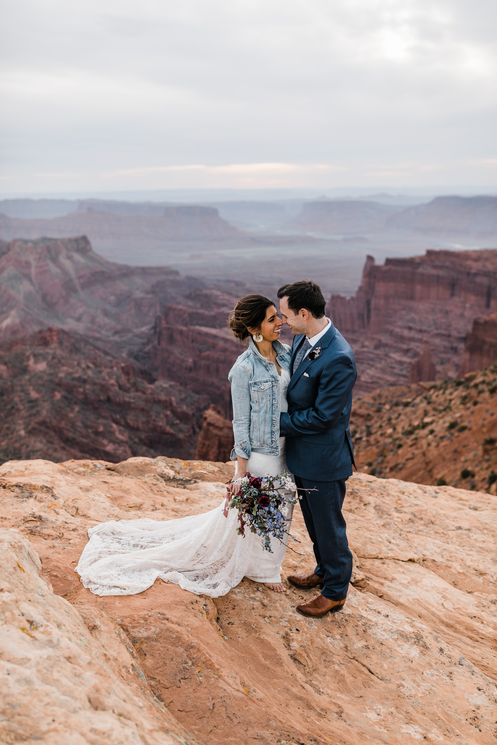 The Hearnes Adventure Wedding in Moab Utah Wedding Flowers and makeup