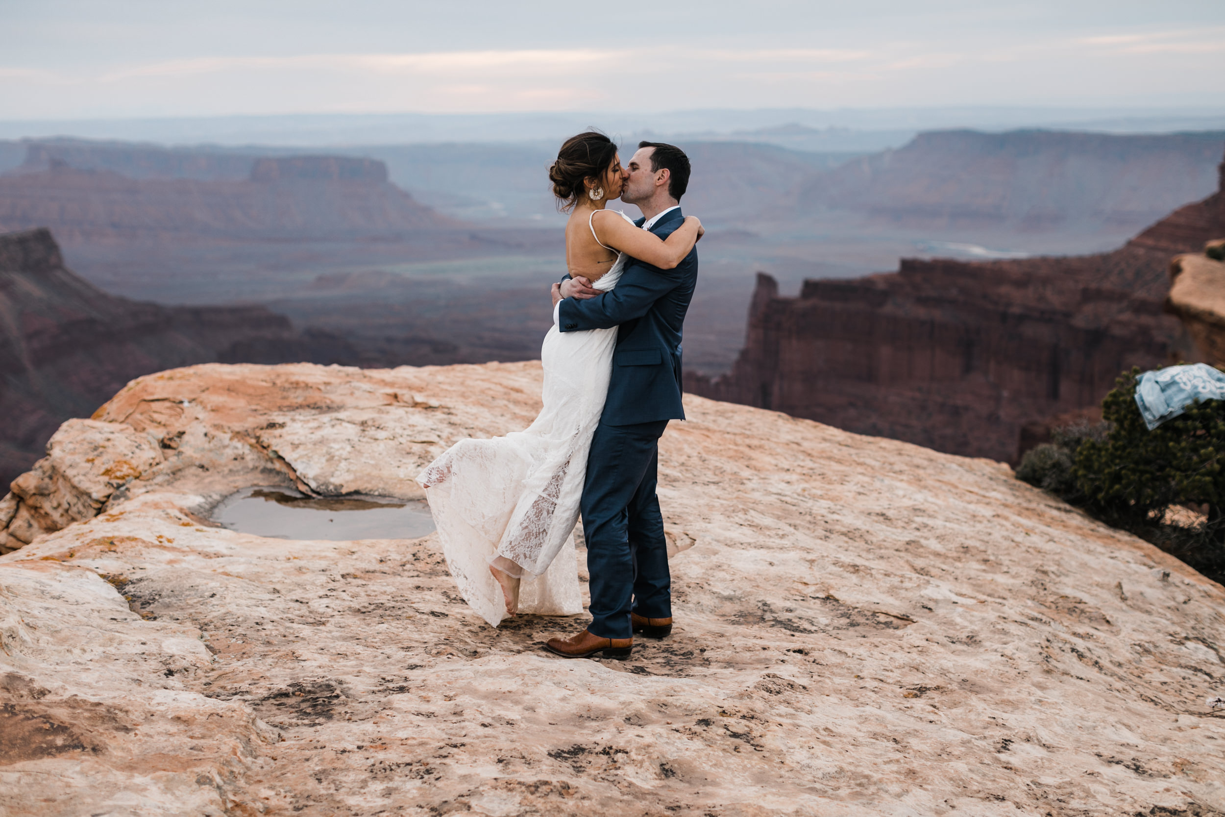The Hearnes Adventure Elopement Photography in Moab Utah