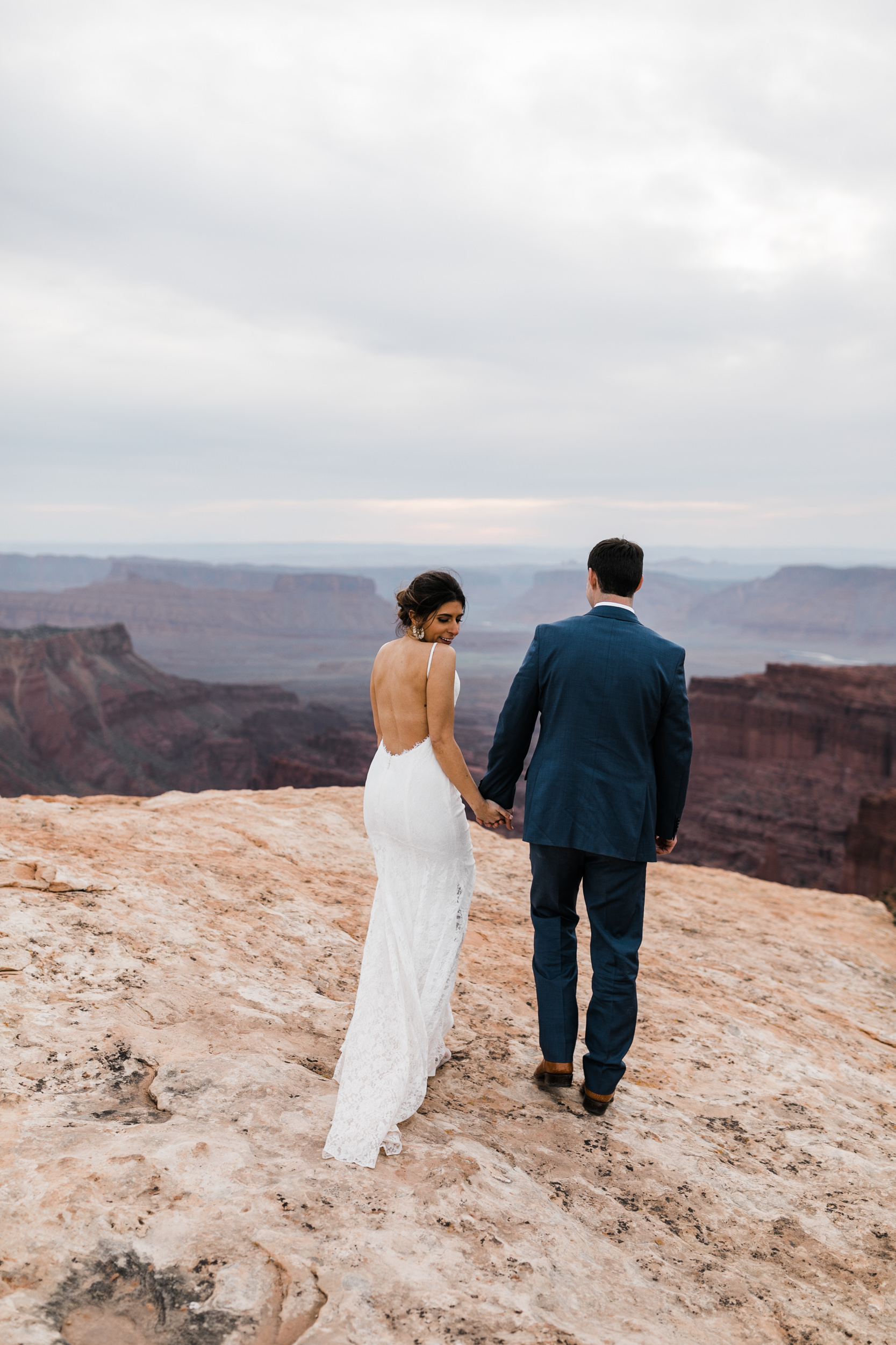 The Hearnes Adventure Elopement in Moab Utah