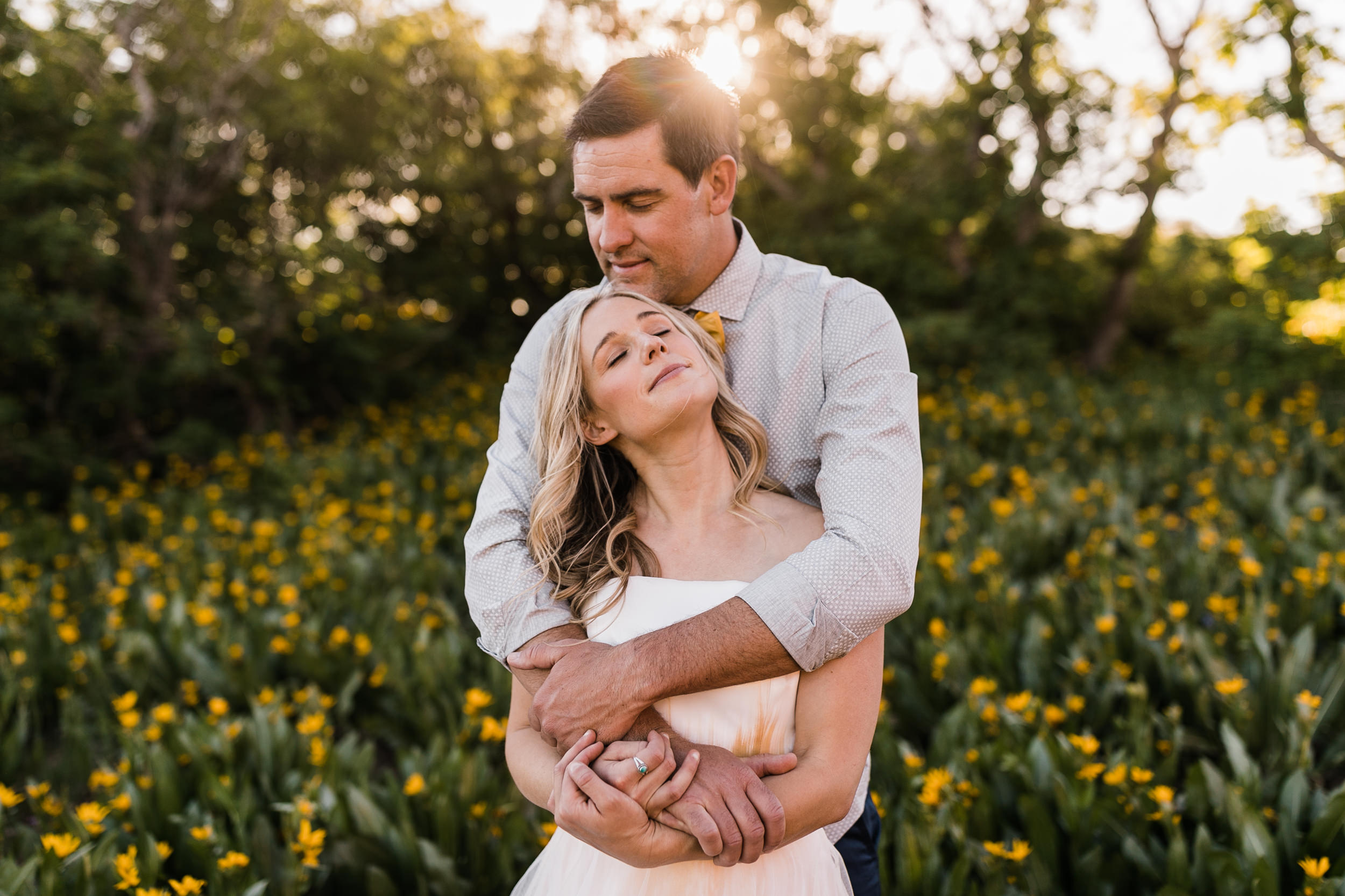 Adventurous Helicopter Elopement Bridal Portraits with Caroline Gleich and Rob Lea in the Wasatch Mountains near Salt Lake City, Utah
