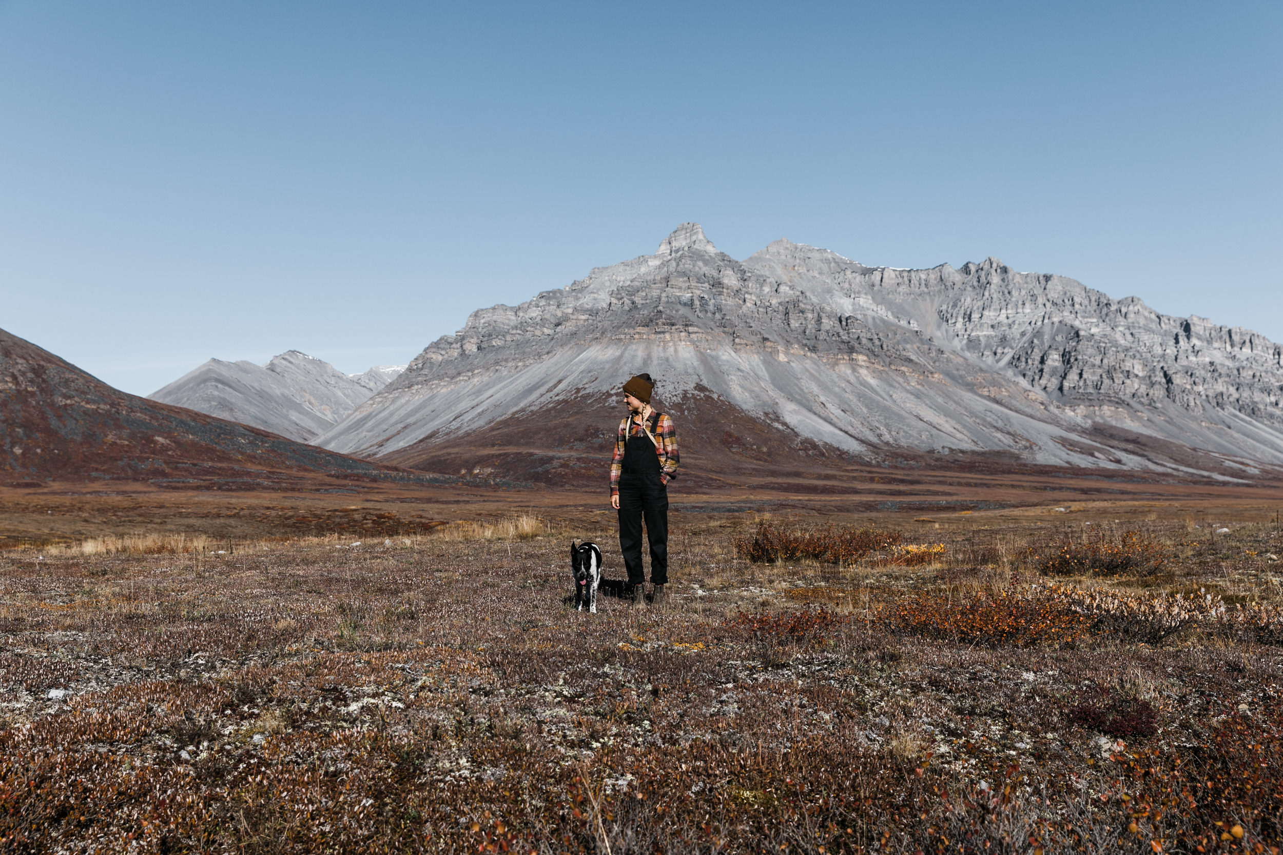 Landing in Anaktuvuk Pass inside Gates of the Arctic National Park in northern Alaska | The Hearnes Adventure Wedding Photography