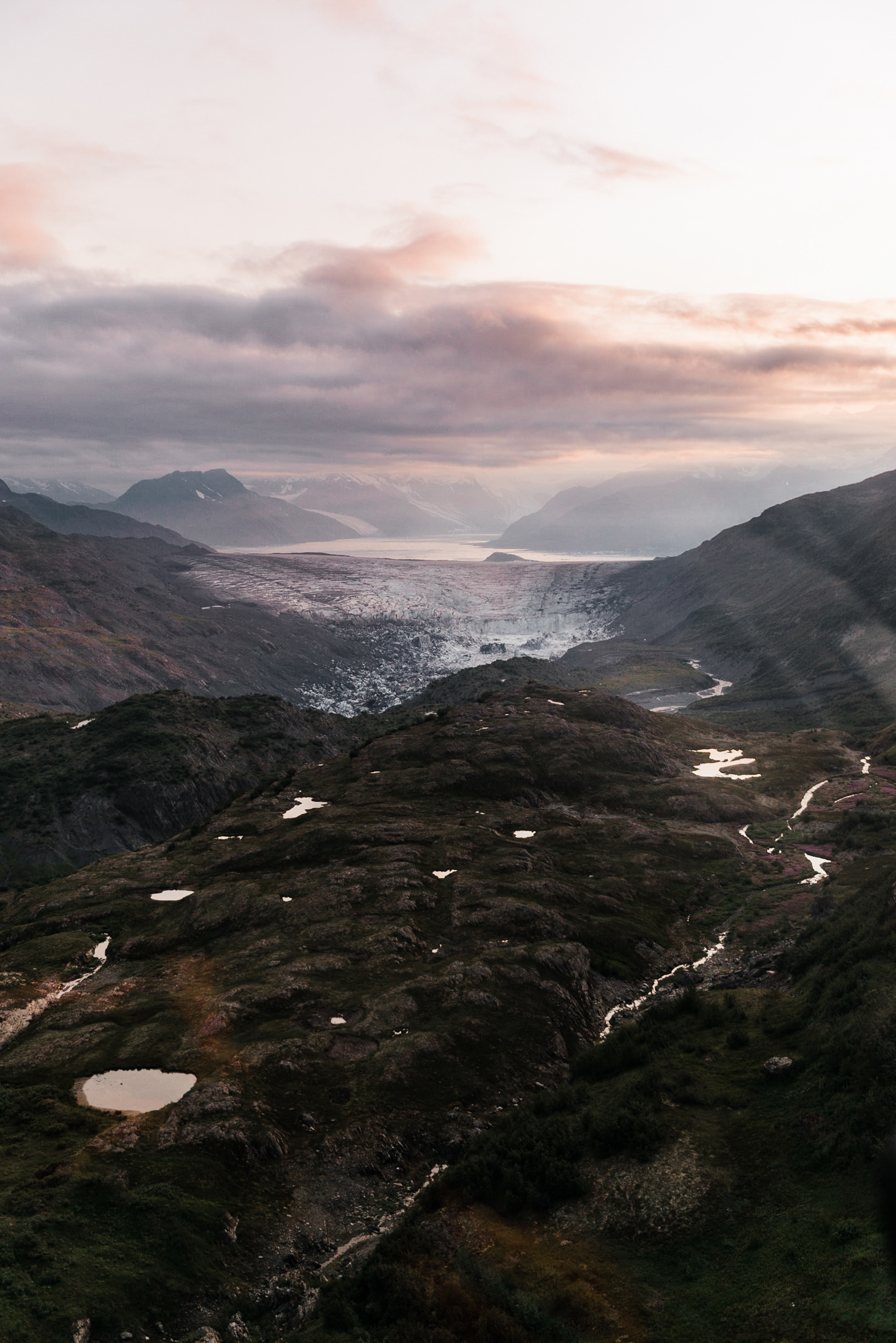 Aerial Photography from Helicopters and Airplanes | How to get epic photos on your flight seeing tour in Valdez, Alaska | The Hearnes Adventure Photography