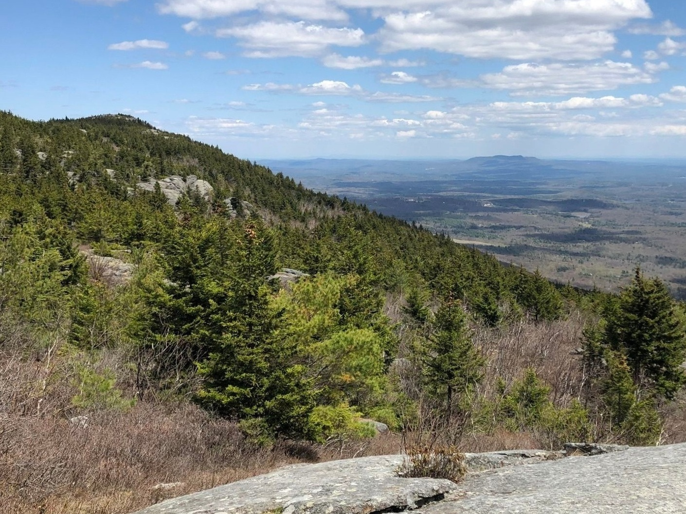 Mount Monadnock - Jaffrey, NH   Via White Dot Cross Trail   Completed: 06/10/18
