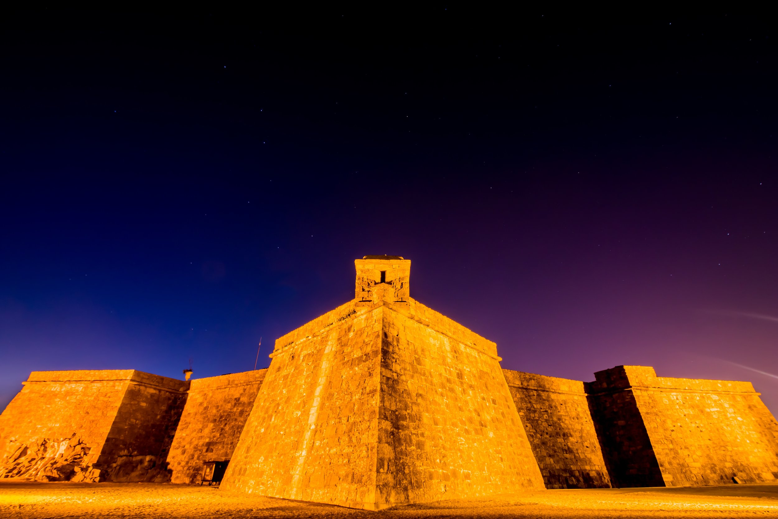 2. A Fort Night  Fort São João, situated where the mouth of the river meets the ocean, was built to protect the city from sea invaders. It is named after the city's patron saint, John the Baptist.