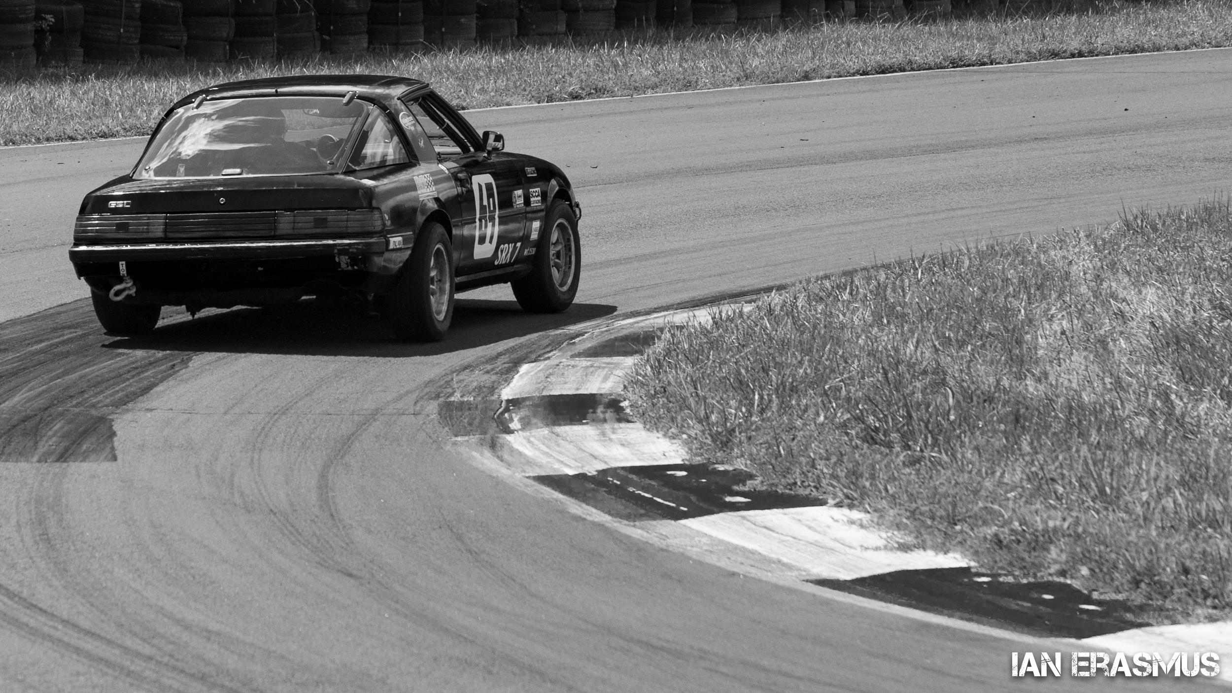 #69 Brian Thorpe Mazda RX7