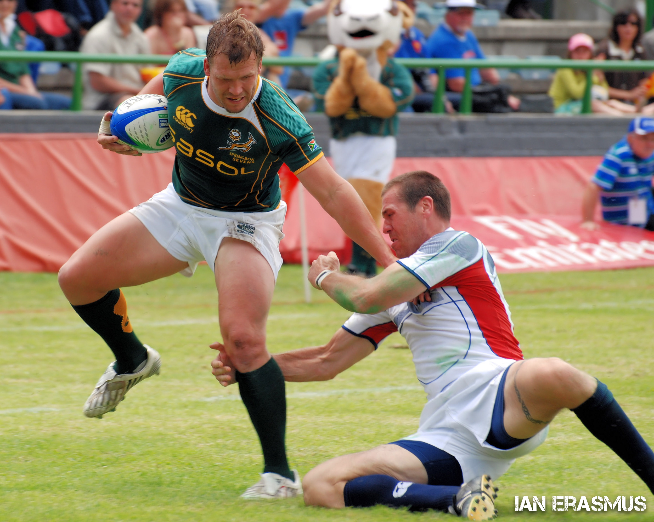 Frankie Horne - South Africa vs USA