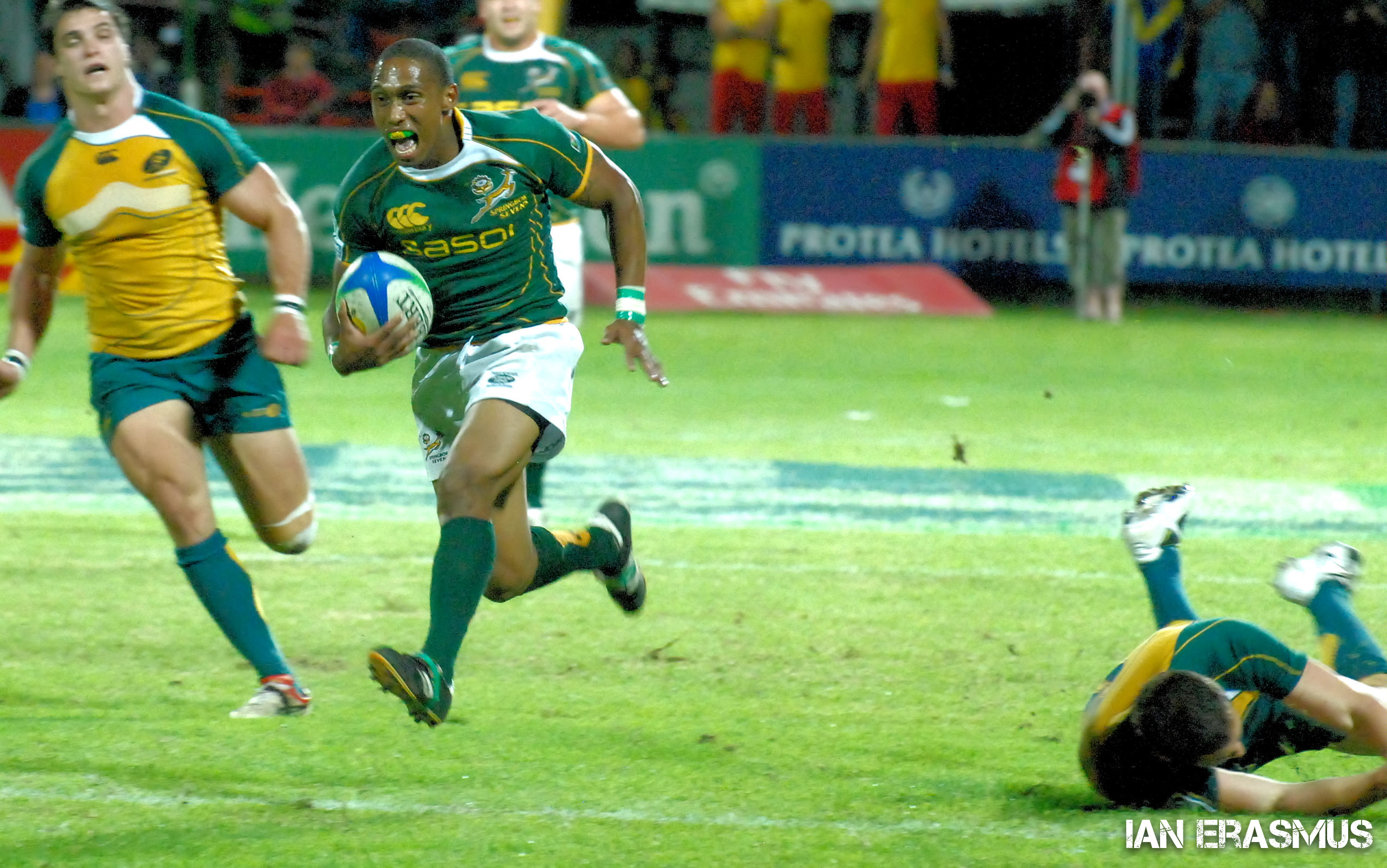 Renfred Dazel - South Africa vs Australia