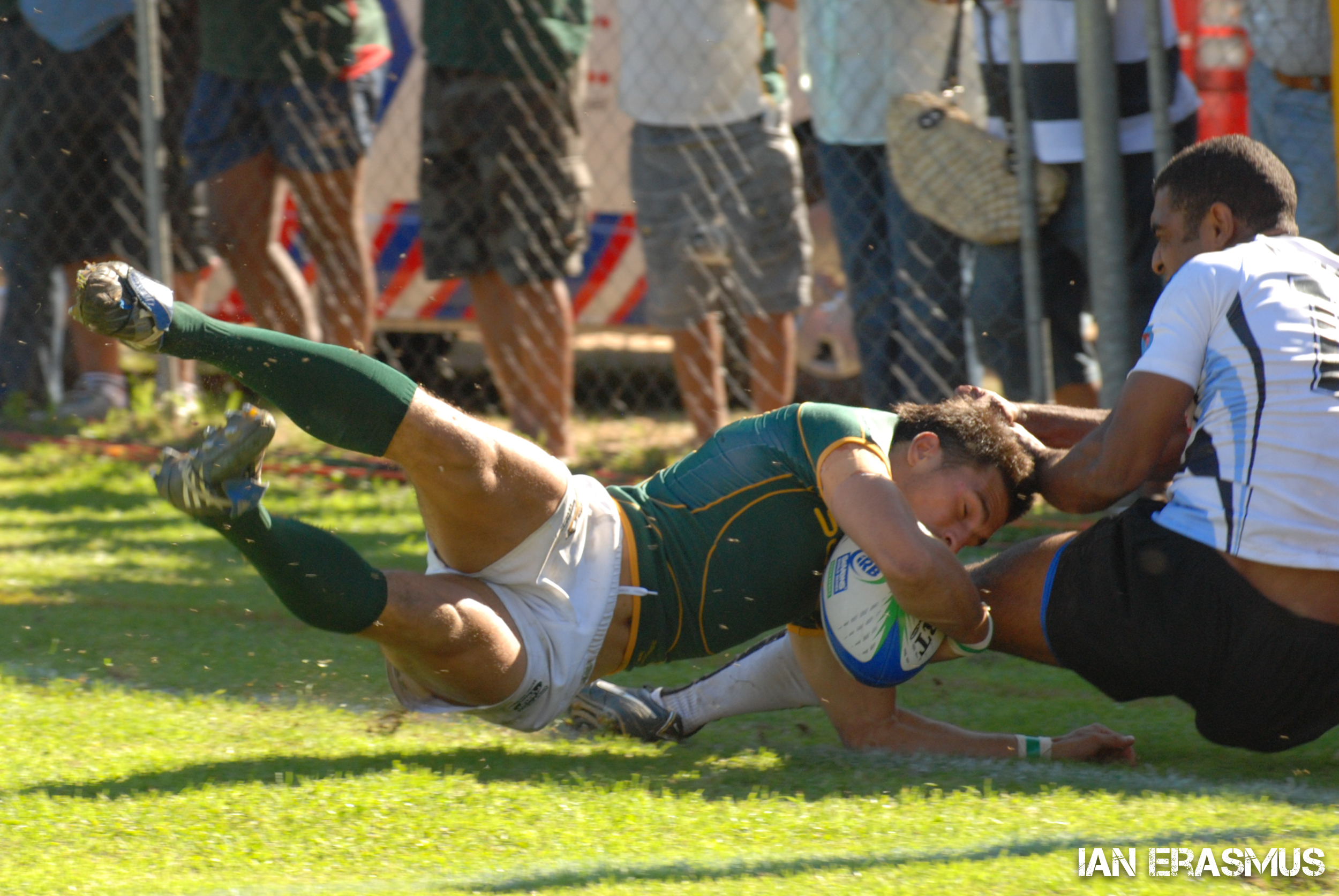 Robert Ebersohn - South Africa vs Fiji