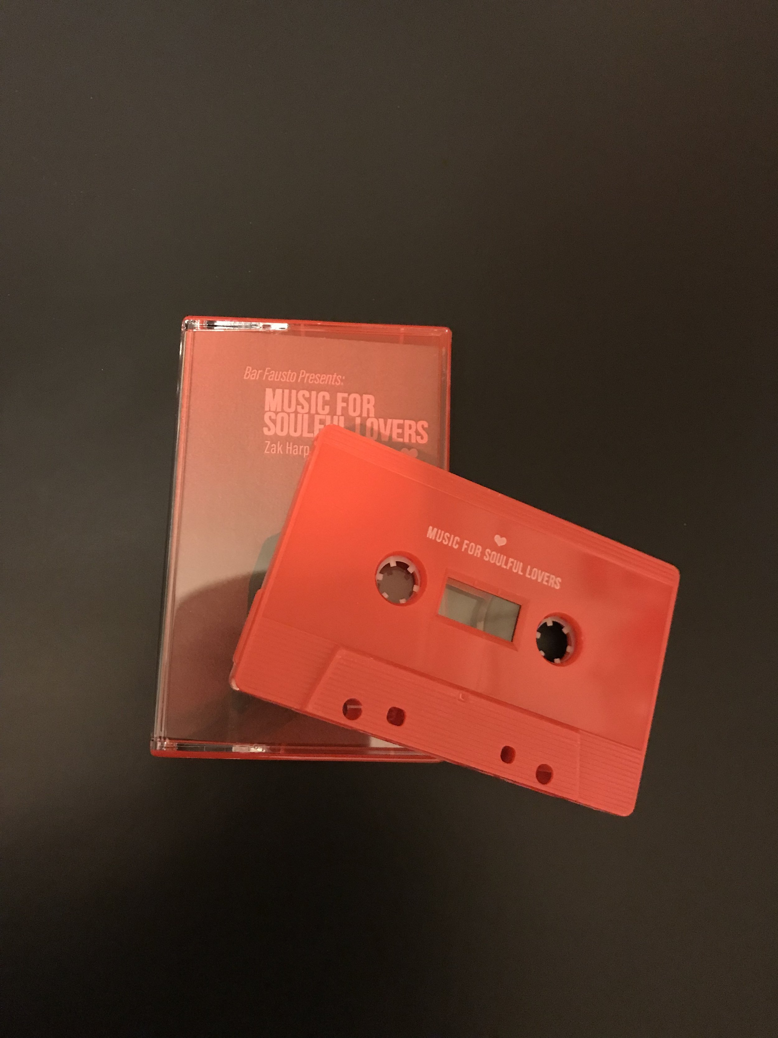 Sneak peak at what the tapes look like.