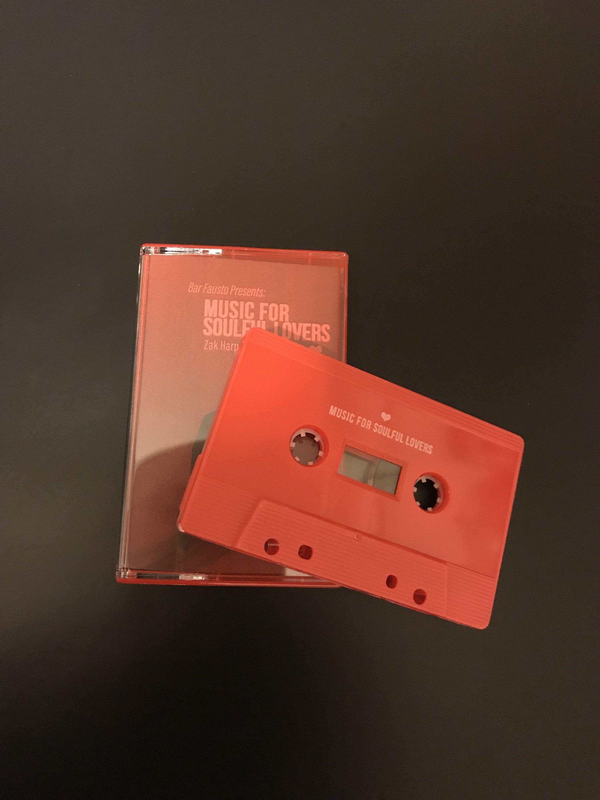 Sneak peak at what the tapes look like.