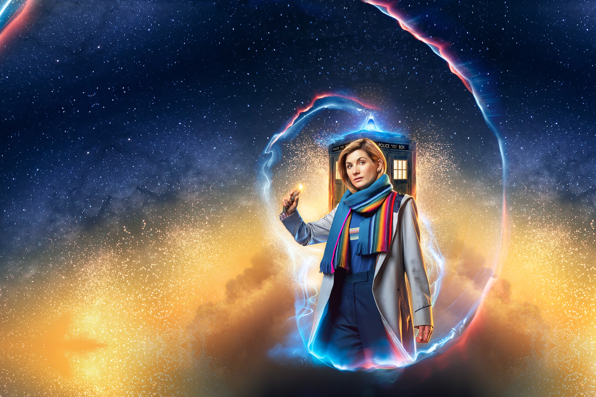 The Doctor Who New Year Special is showing today. It was great fun and a real privilege to photograph Jodie Whittaker and the cast for the promotional push leading up to this much anticipated event.