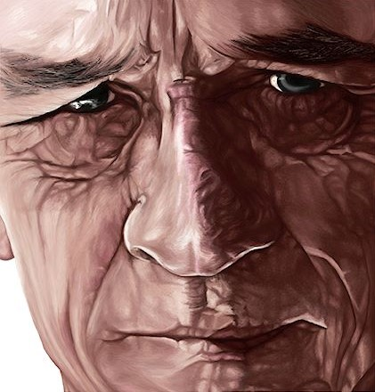 Digital portrait - Tommy Lee Jones